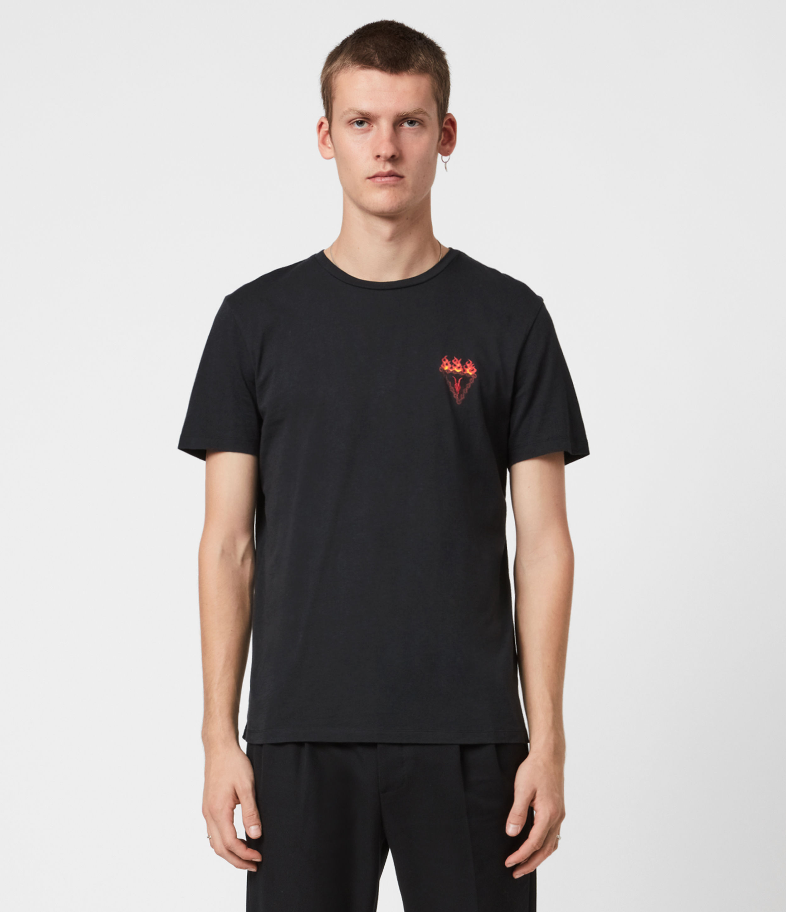 AllSaints Infernal Crew T-Shirt
