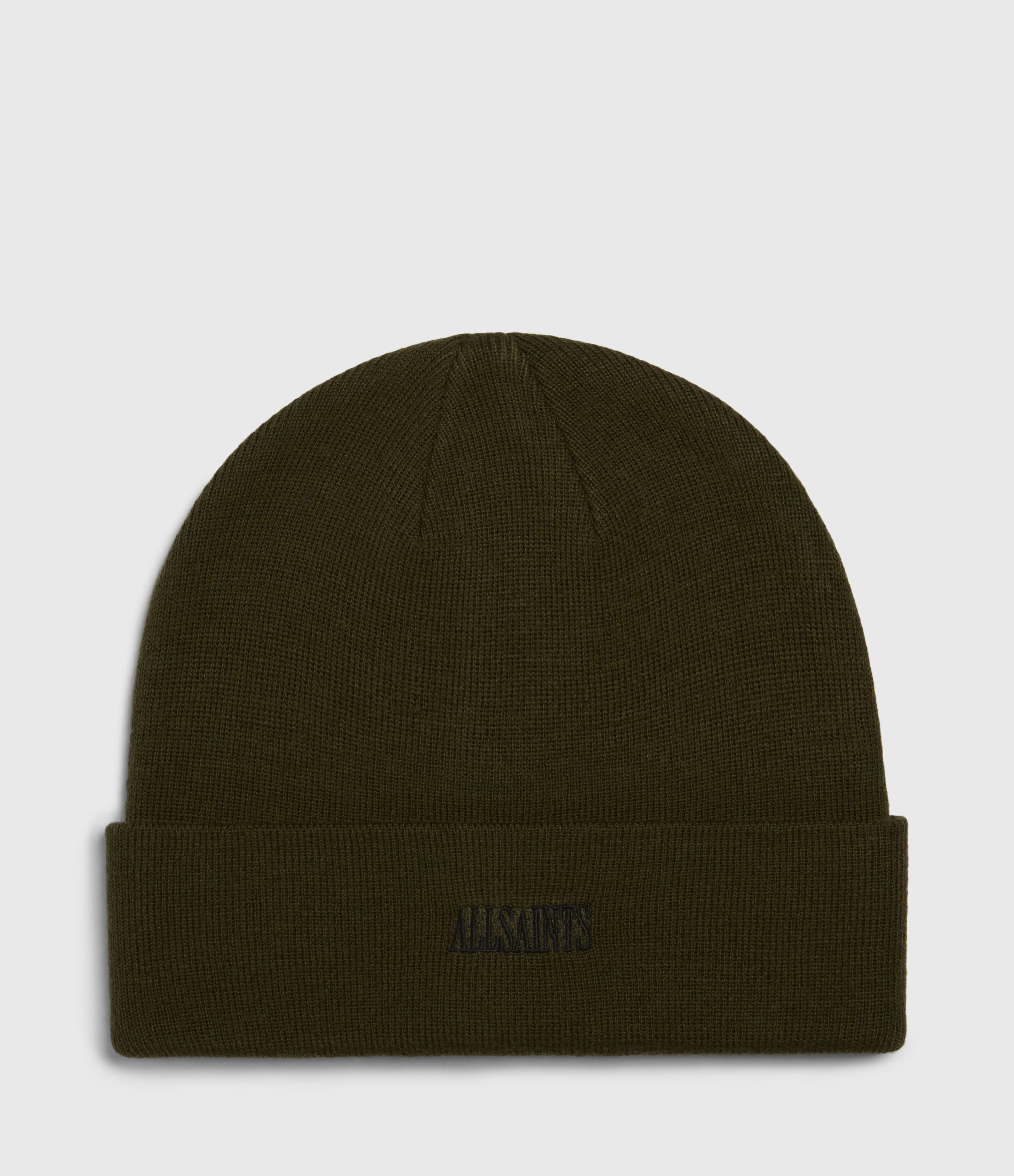 AllSaints Men's Embroidered State Wool Blend Beanie