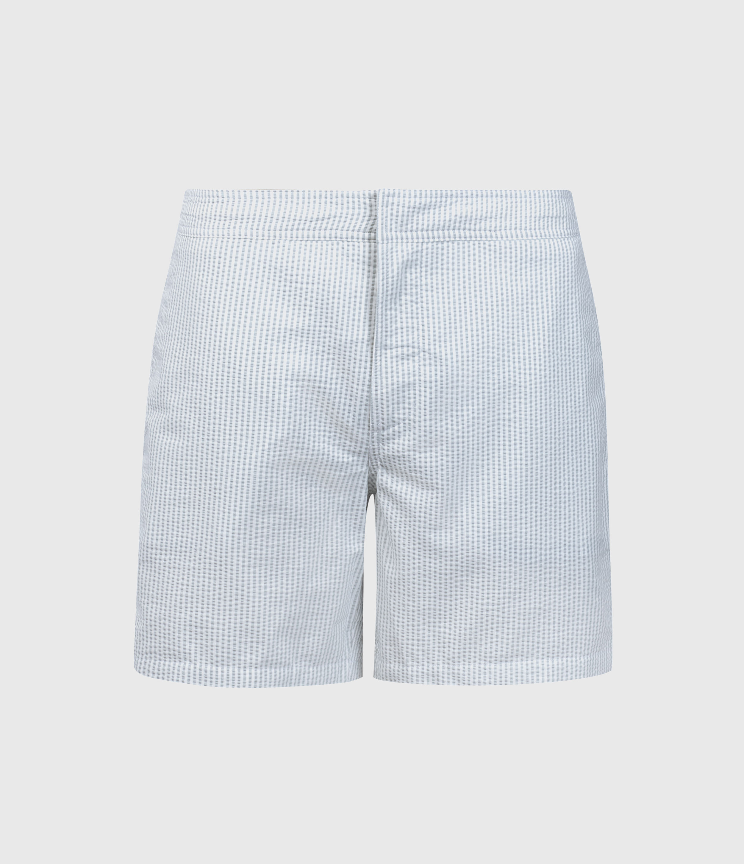 AllSaints Seersucker Swim Shorts