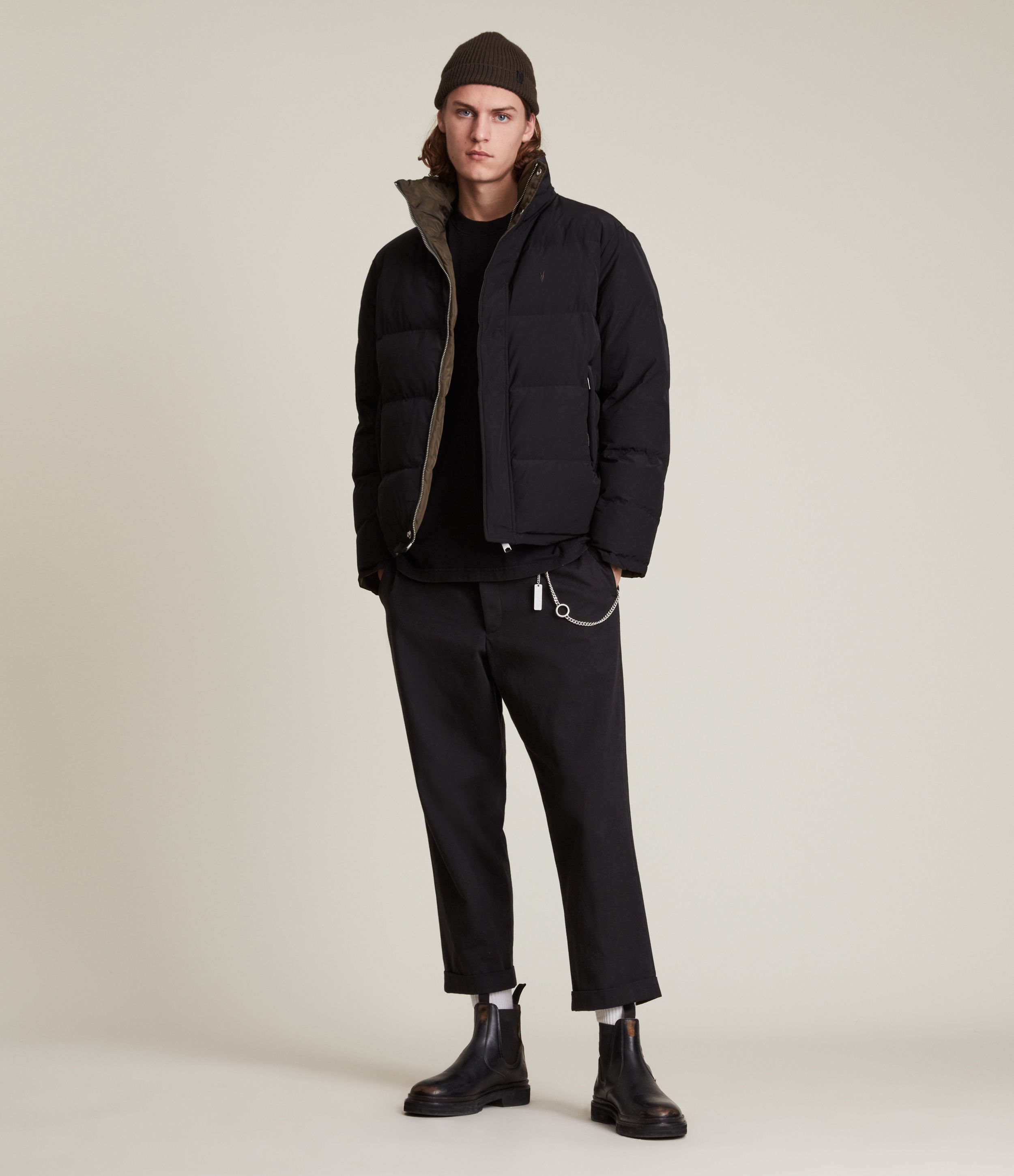AllSaints Novern Reversible Jacket