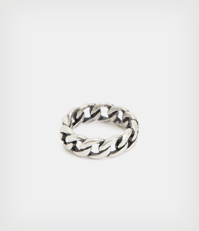 AllSaints Men's Sterling Silver Francis Ring