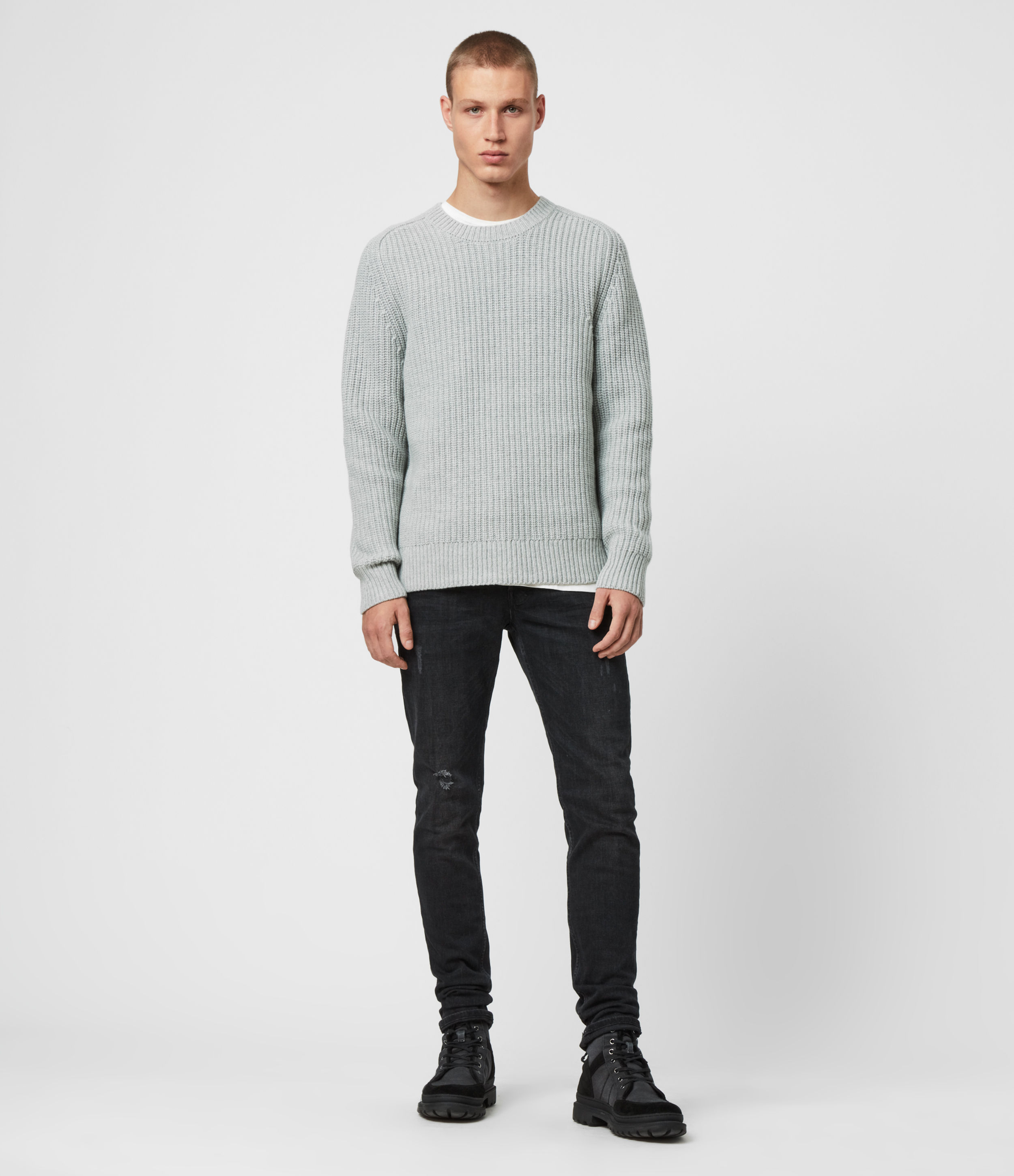 AllSaints Galley Crew Jumper