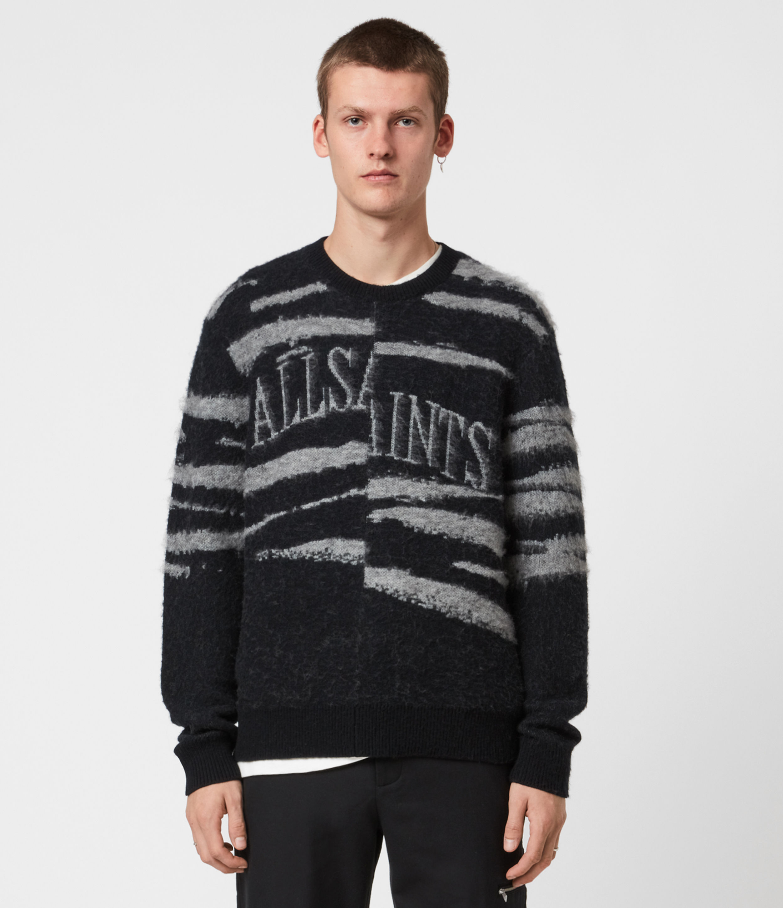 AllSaints Ture Saints Crew Jumper