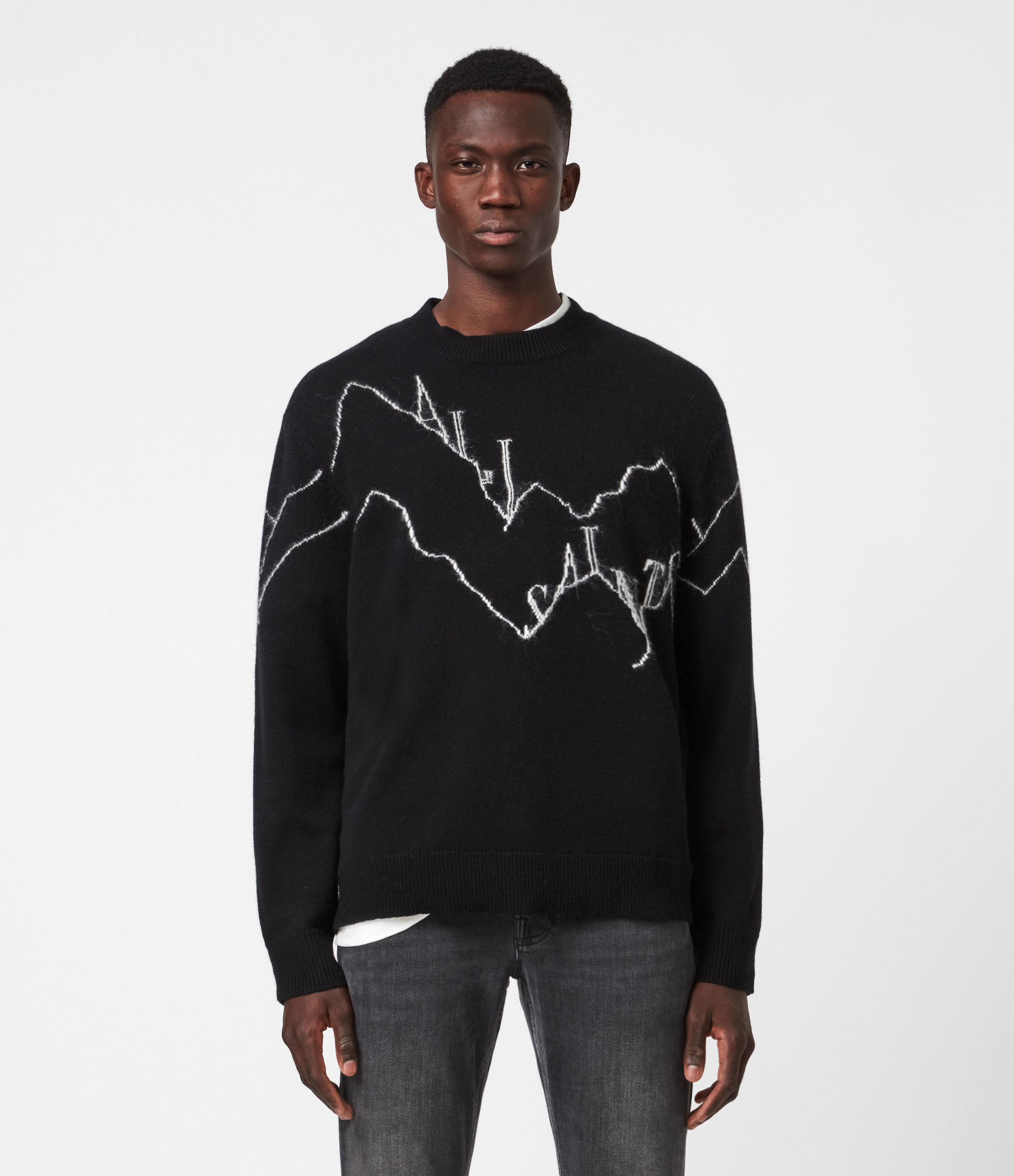 AllSaints Mount Saints Crew Jumper