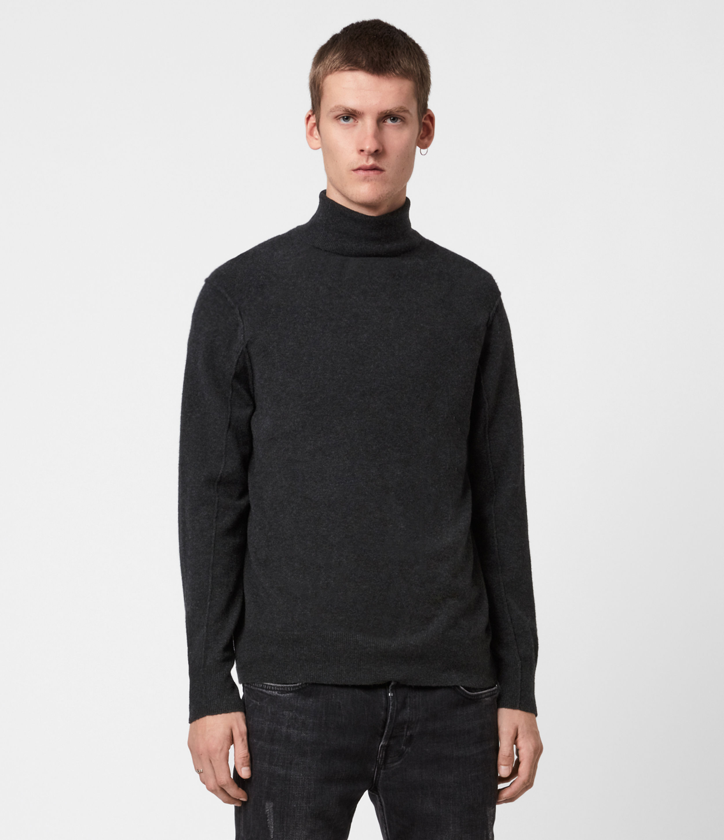 AllSaints Mason Roll Neck Jumper