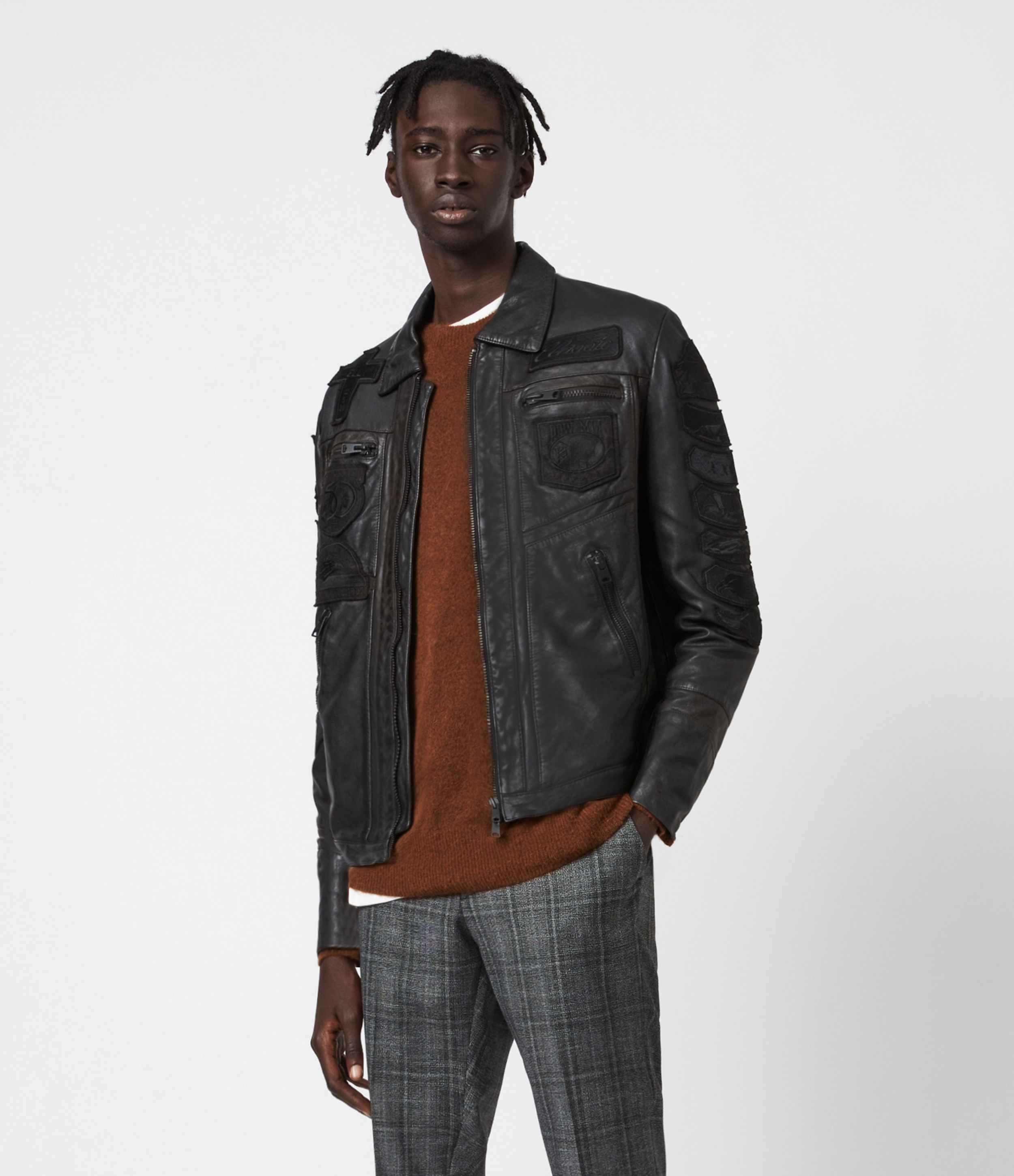 AllSaints Harley Leather Jacket