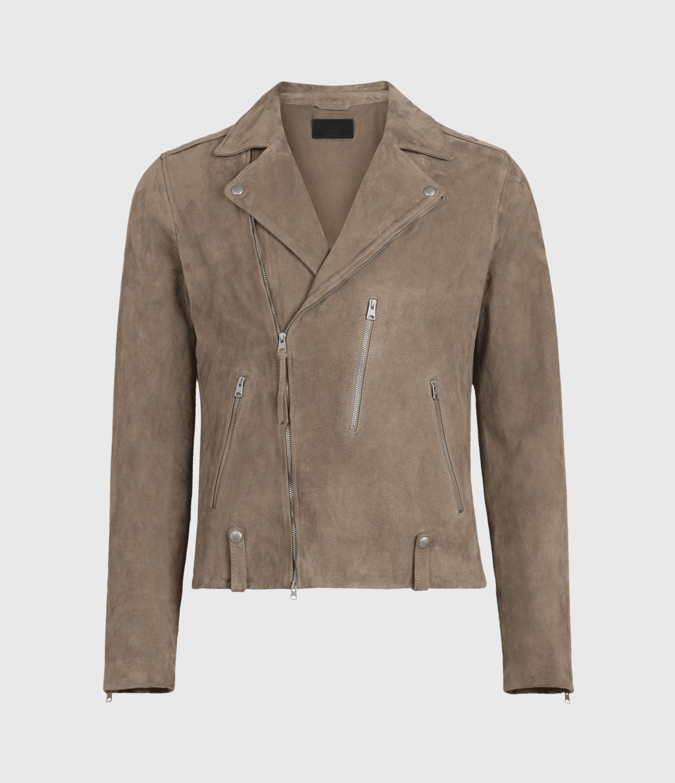 AllSaints Savoy Suede Biker Jacket
