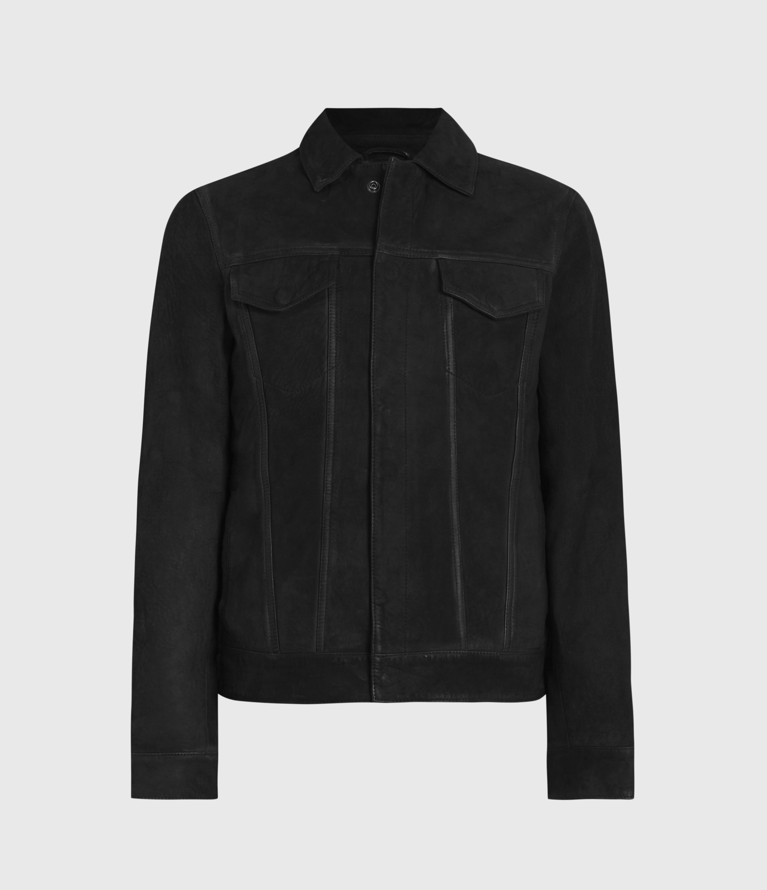 AllSaints Hazel Leather Jacket