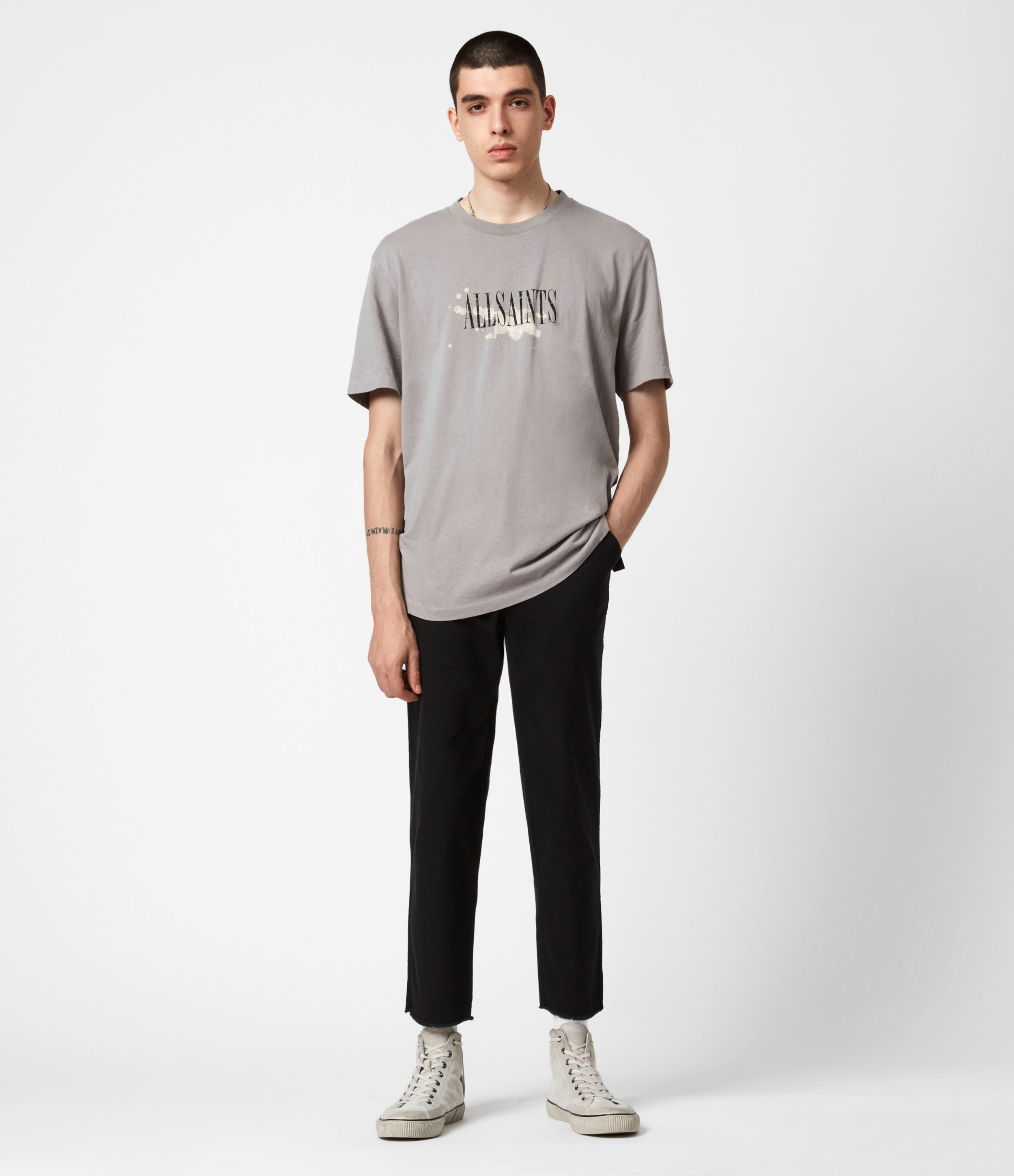 AllSaints Indus Straight Trousers