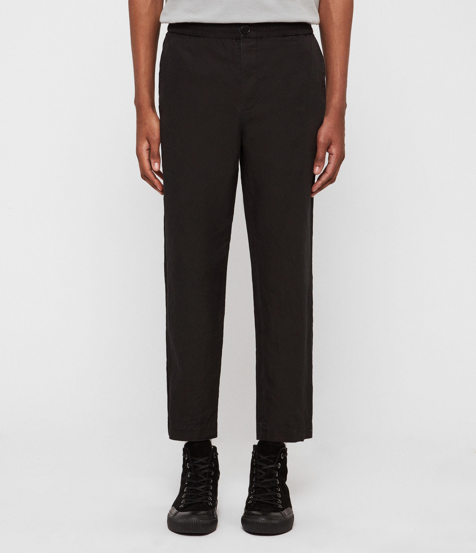 AllSaints Bellew Cropped Slim Trousers
