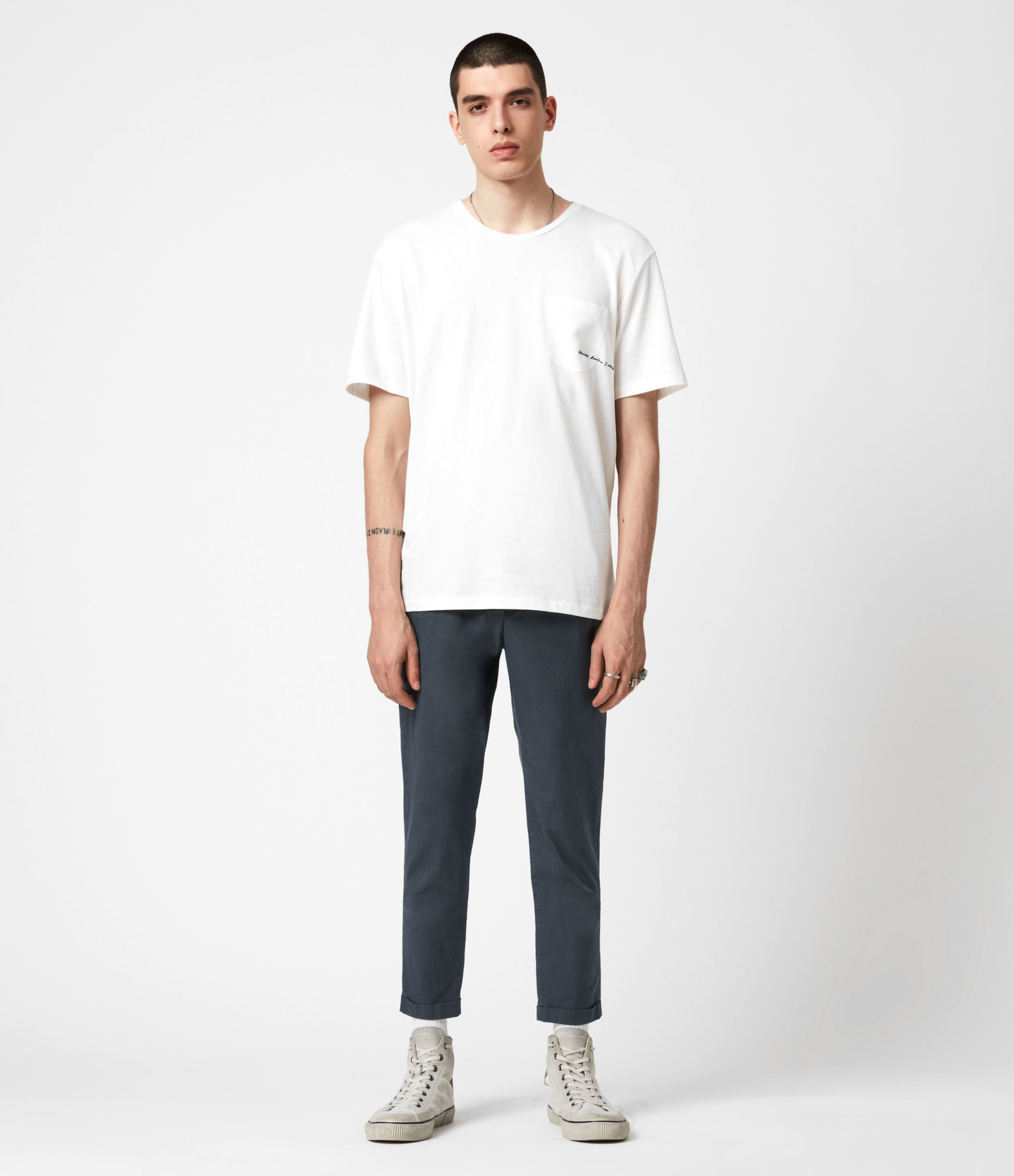 AllSaints Bengal Cropped Slim Trousers