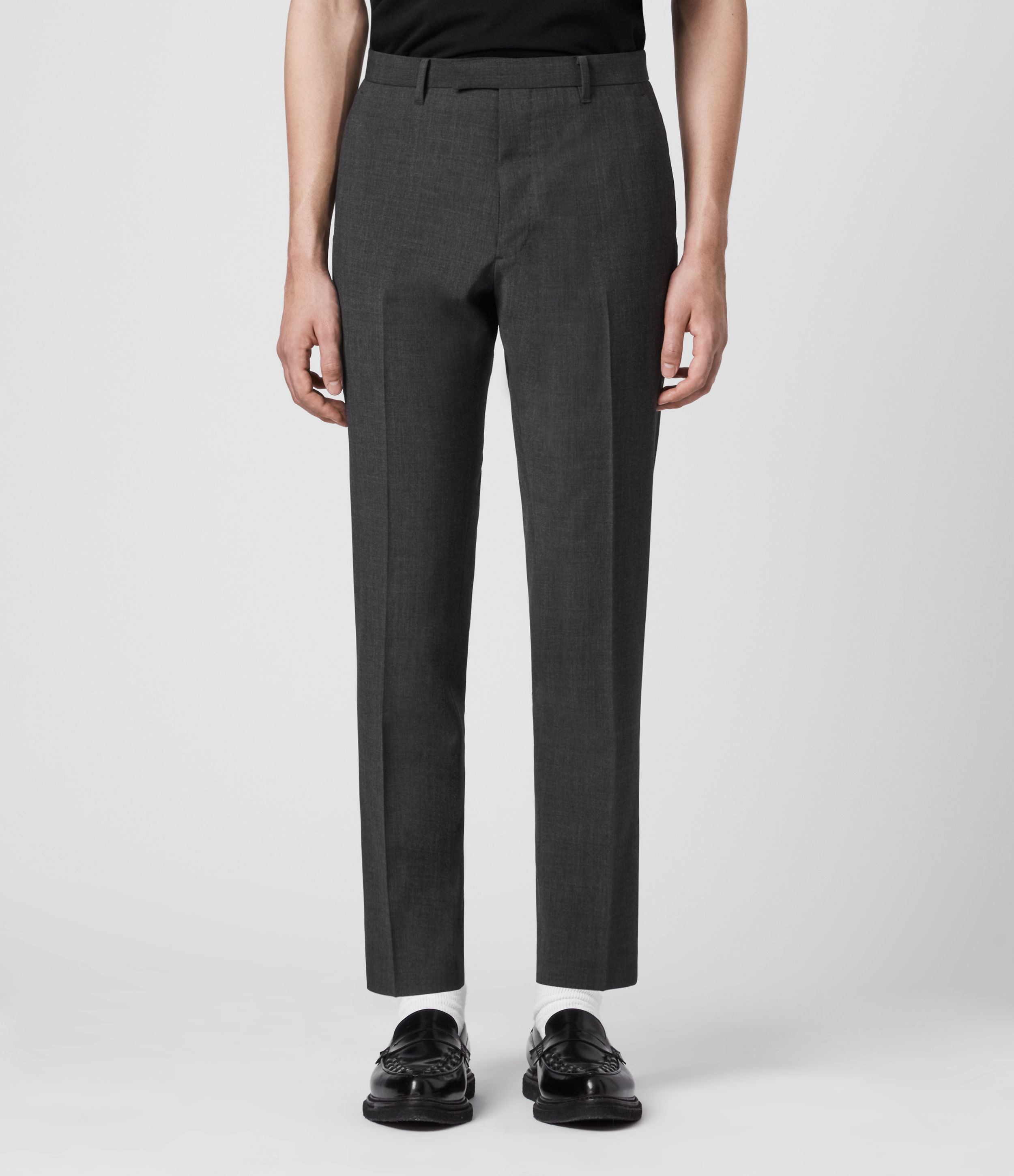 AllSaints Cleaver Cropped Slim Trousers