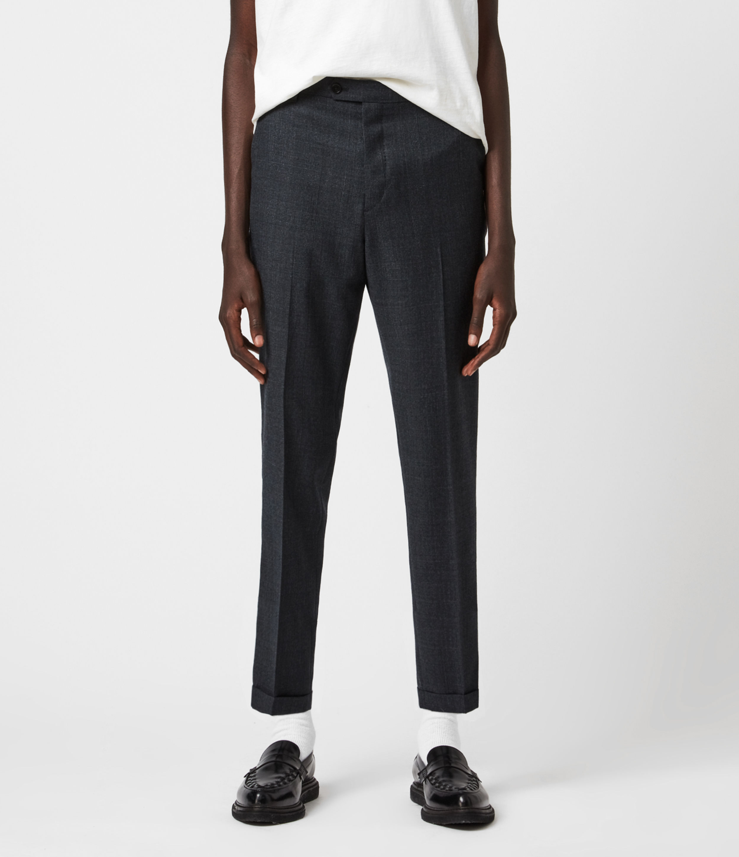 AllSaints Dayton Cropped Slim Trousers
