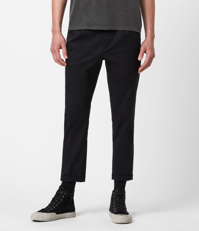 AllSaints Javan Cropped Slim Trousers