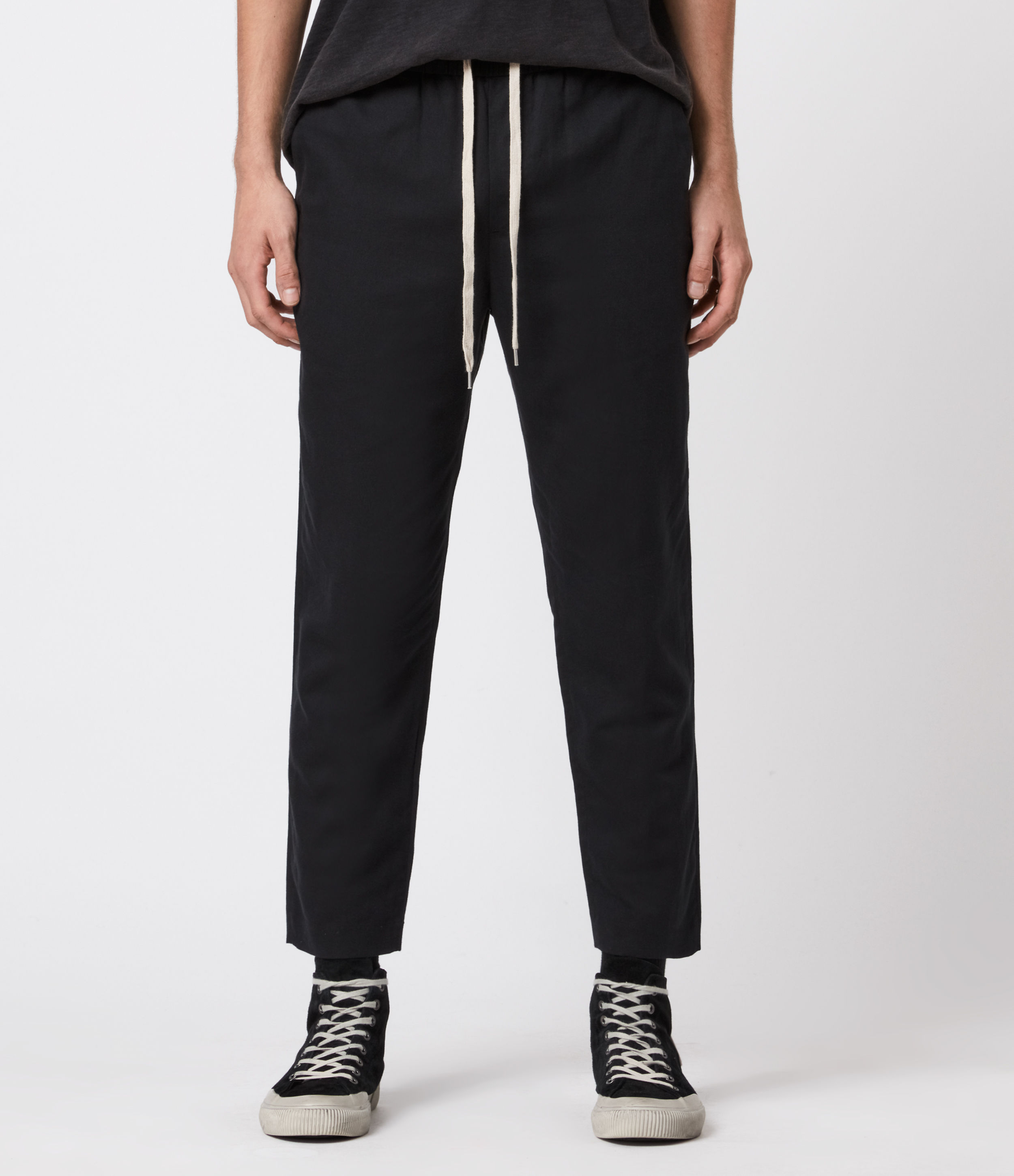 AllSaints Algol Cropped Slim Trousers