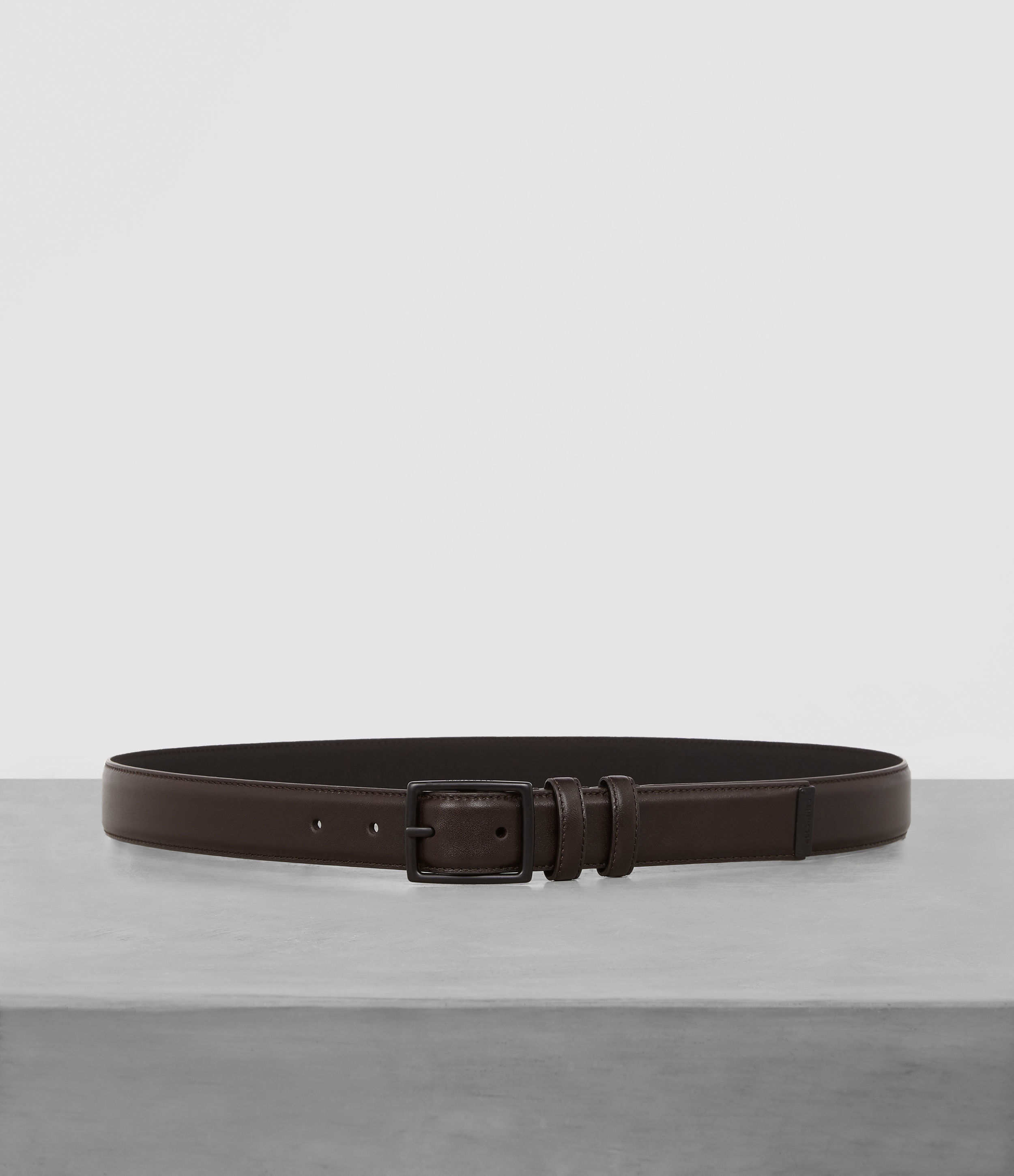 AllSaints Ives Leather Belt