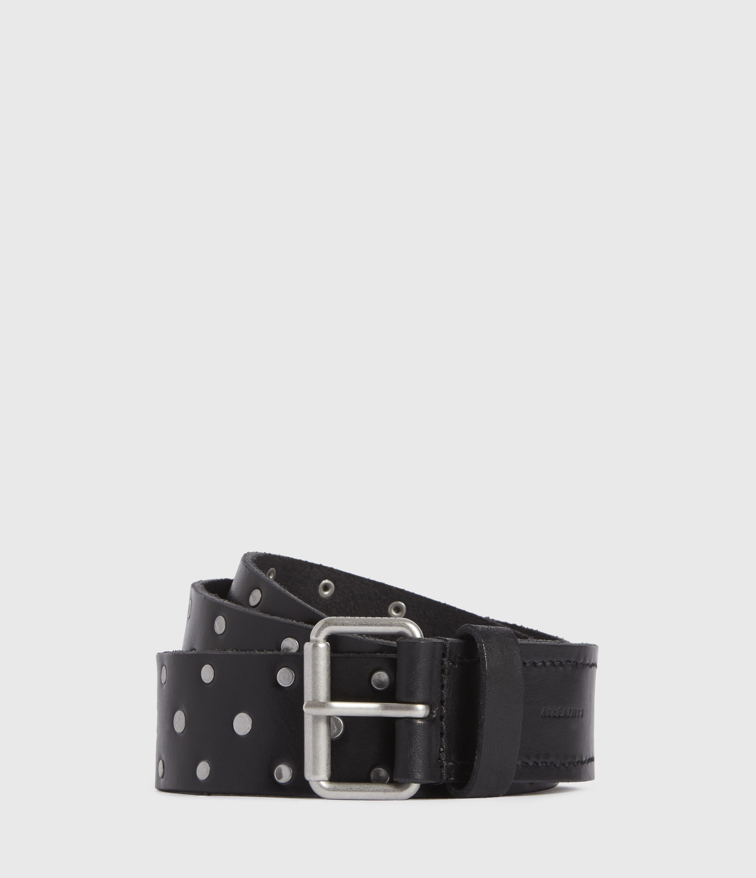 AllSaints Hawthorne Leather Belt