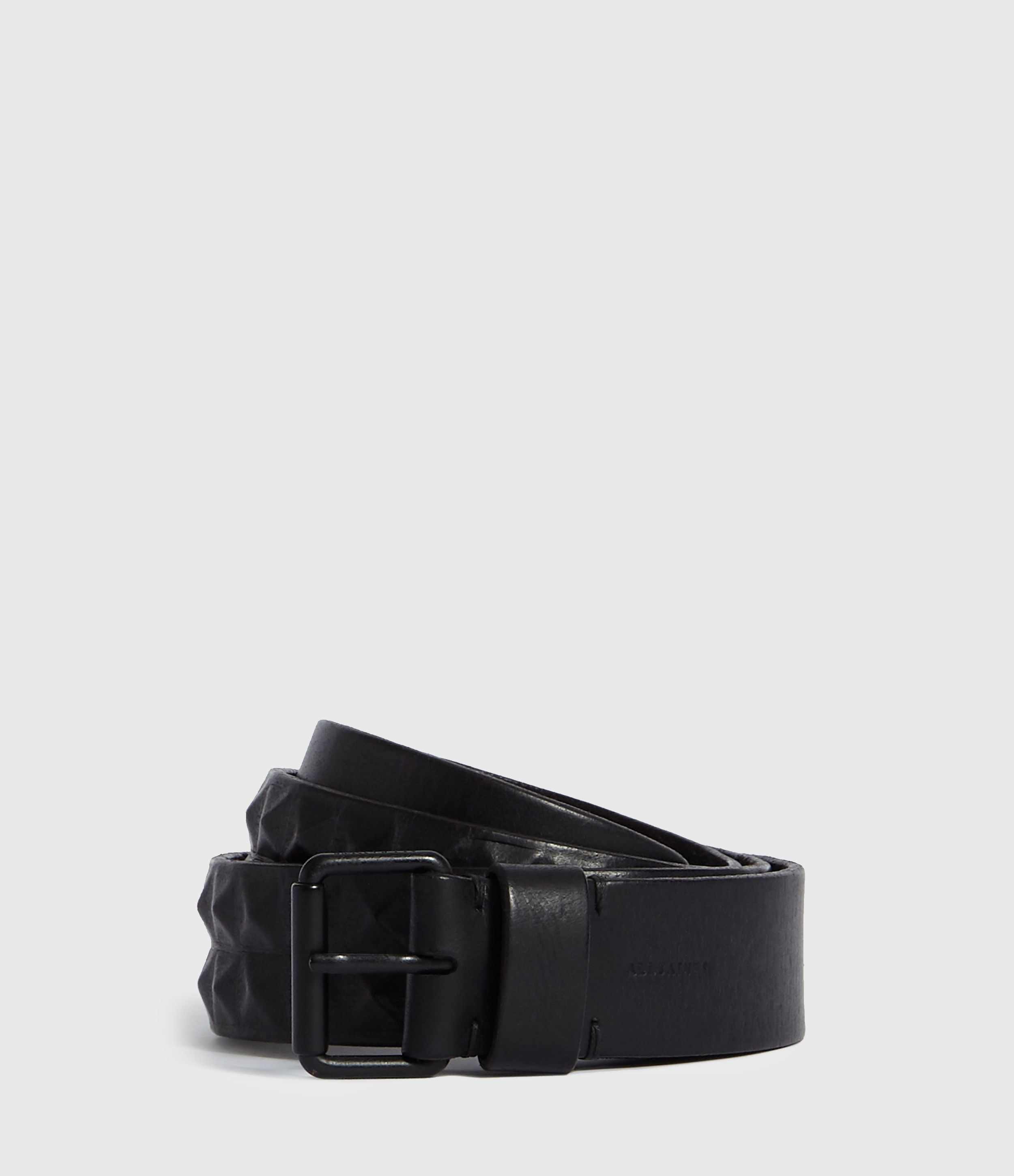 AllSaints Kai Leather Belt
