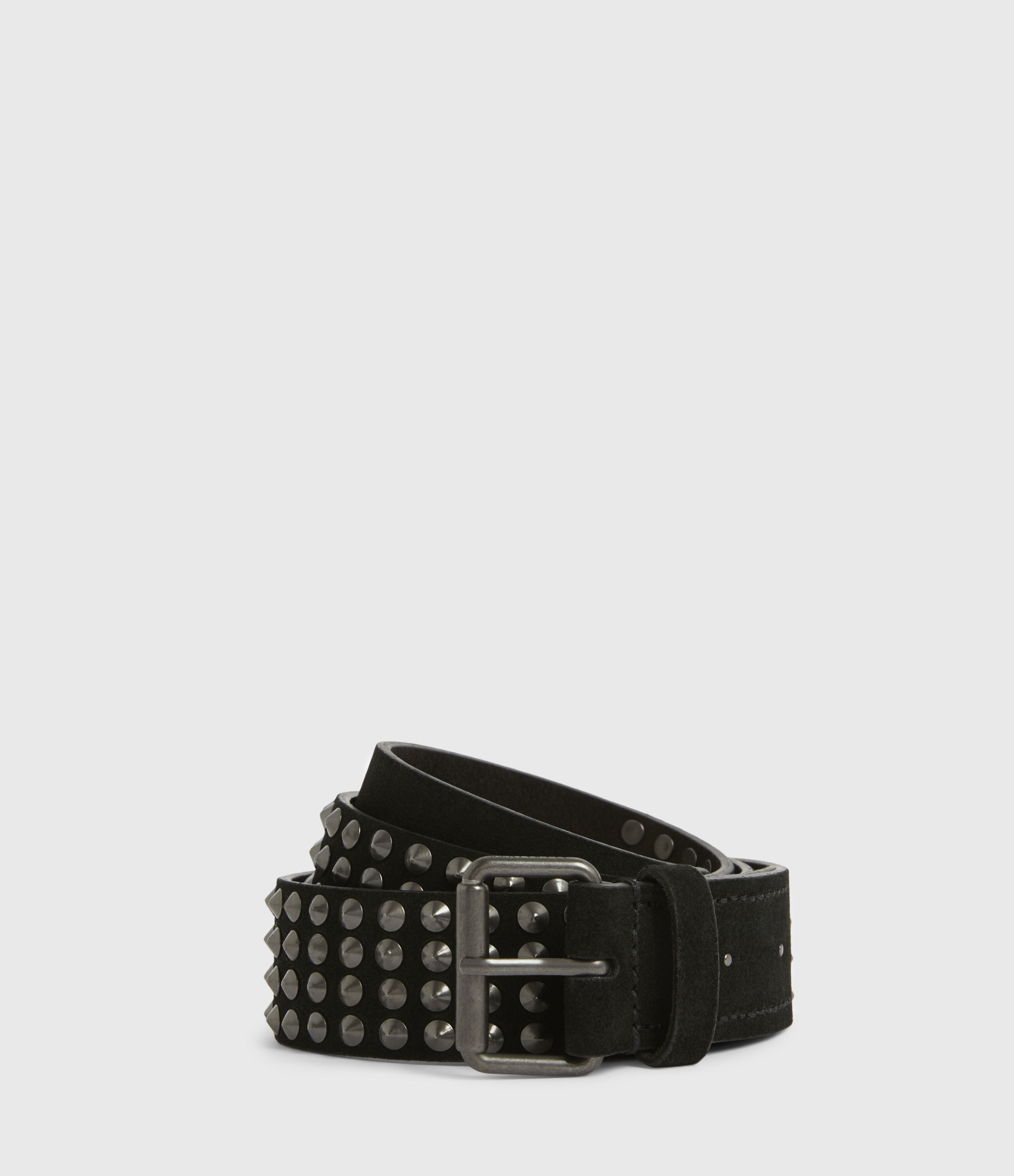 AllSaints West Leather Belt