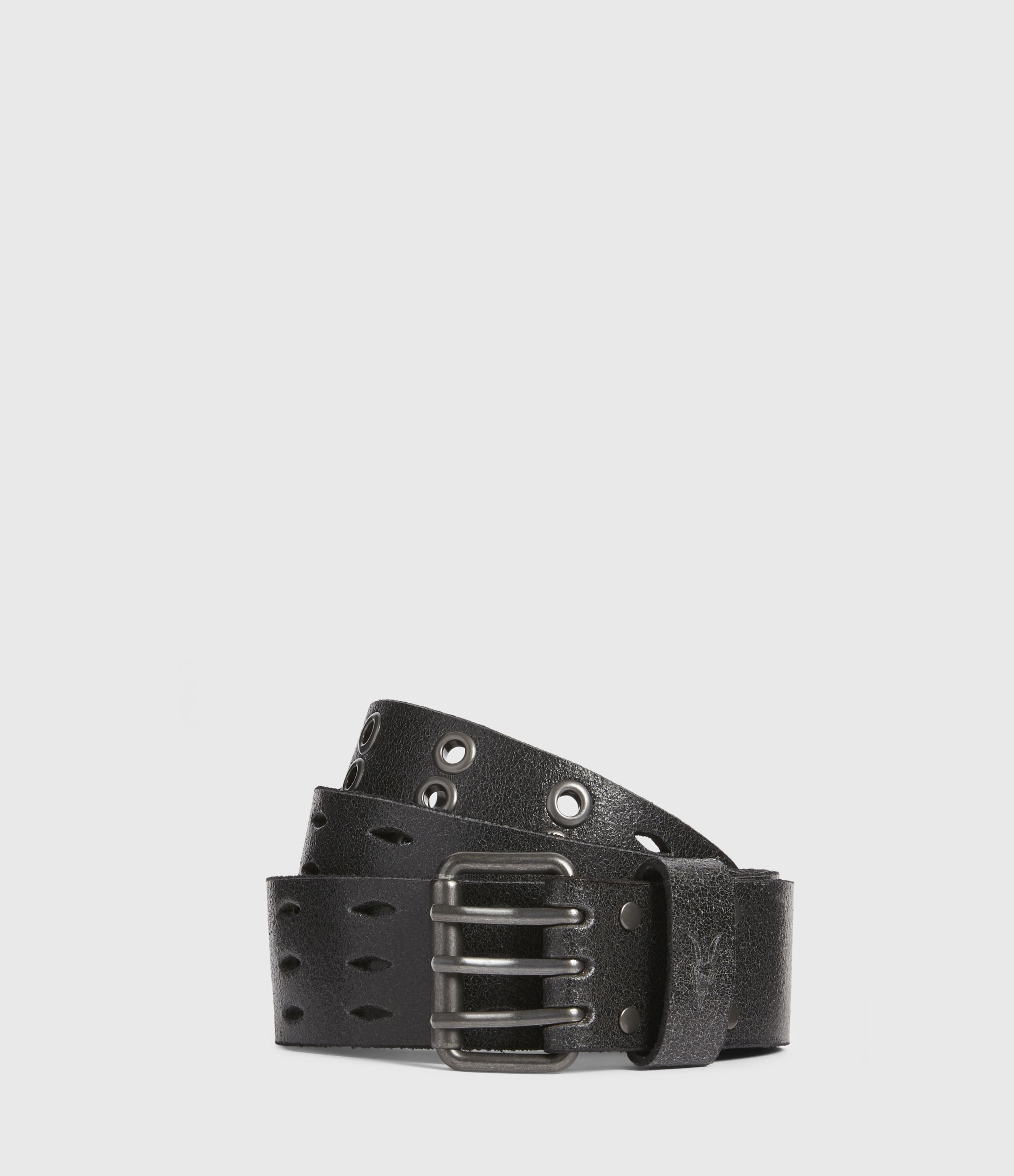 AllSaints Levi Leather Belt