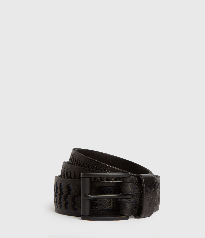 AllSaints Kelsoan Leather Belt