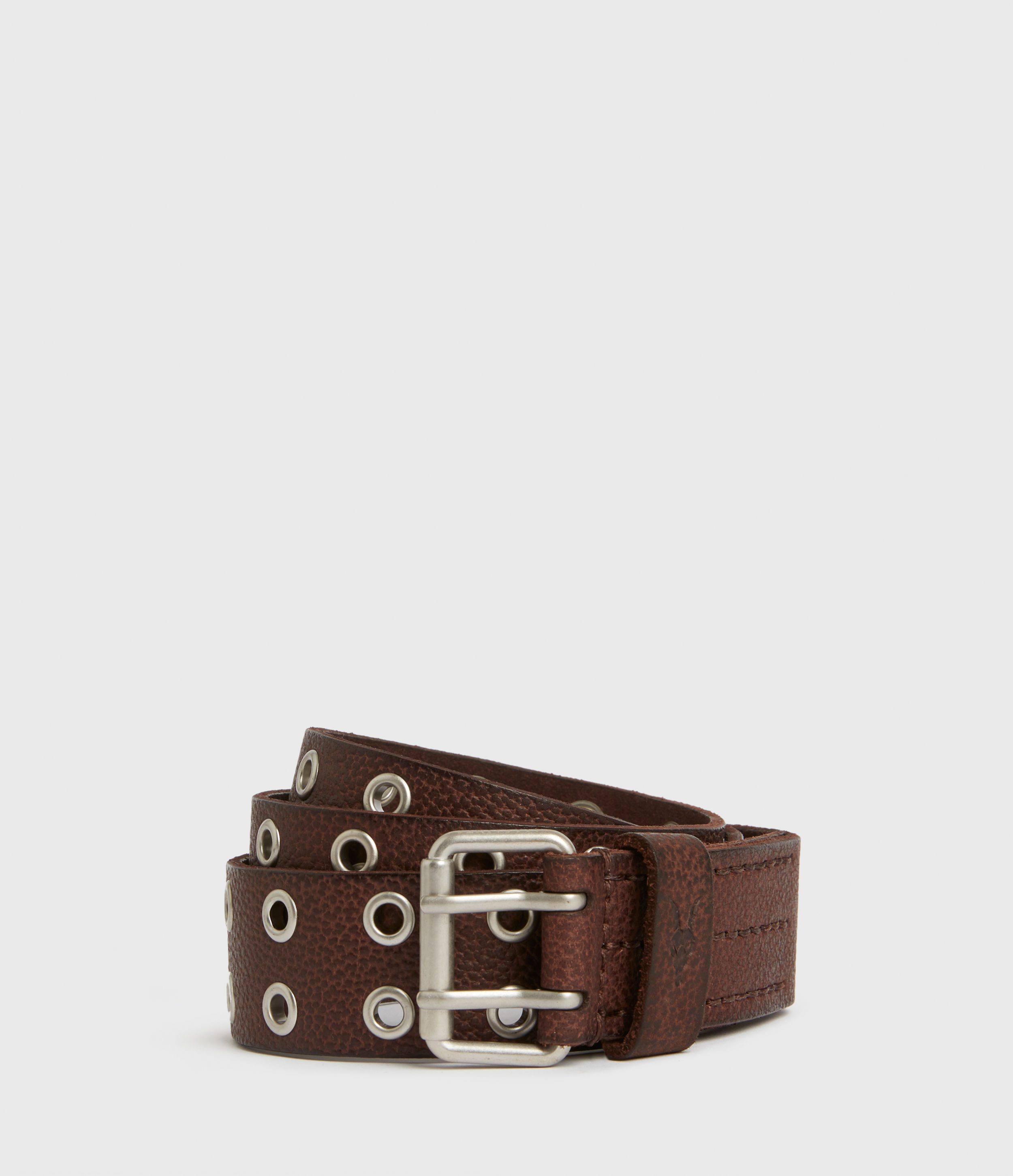 AllSaints Sturge Leather Belt
