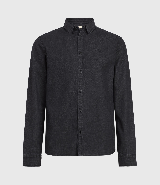 AllSaints Bramston Denim Shirt
