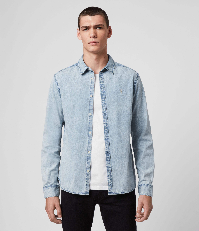 AllSaints Darton Denim Shirt