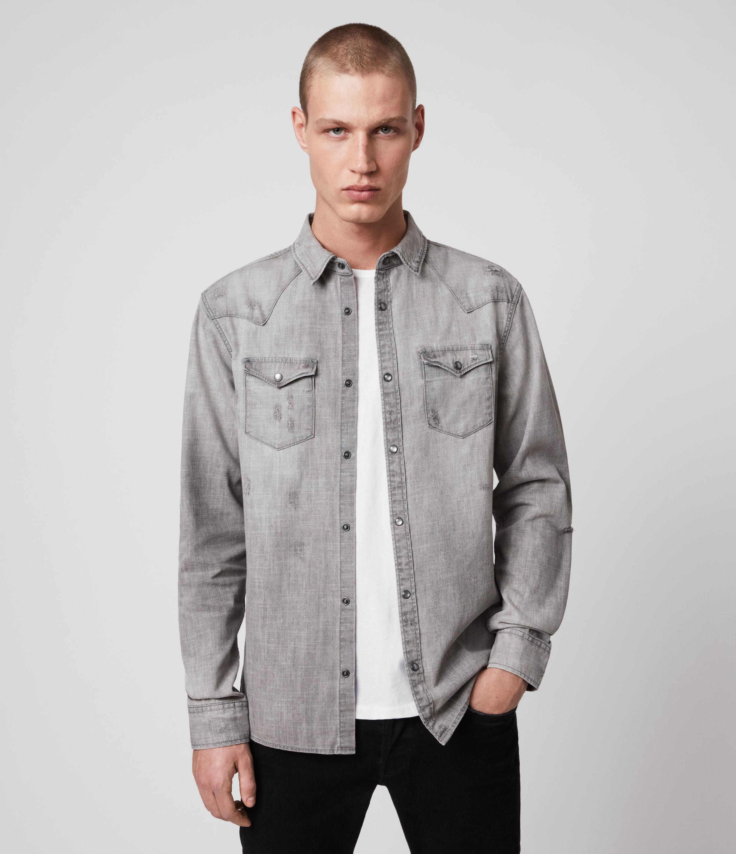 AllSaints Rewa Denim Shirt