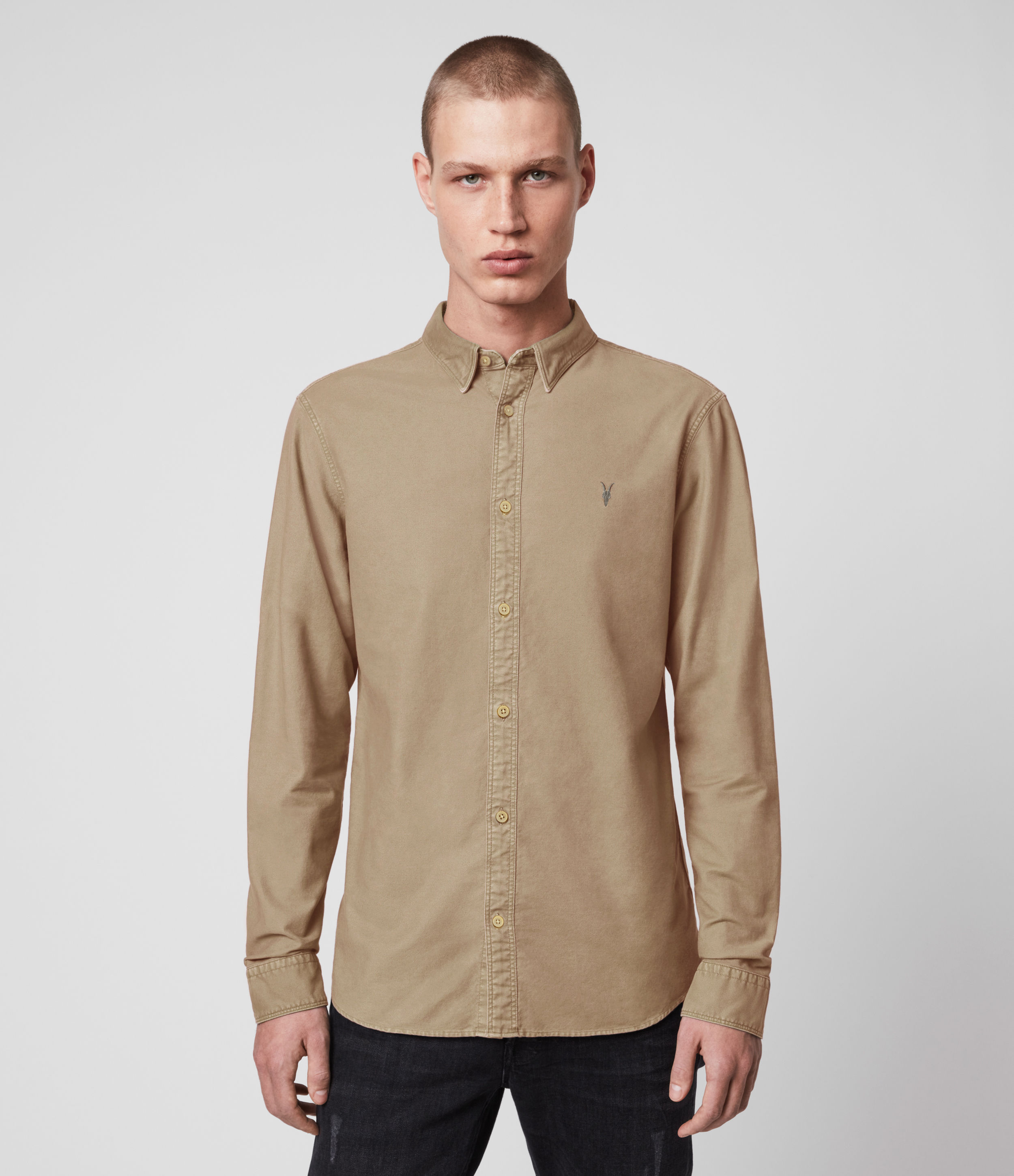 AllSaints Huntingdon Long Sleeve Shirt
