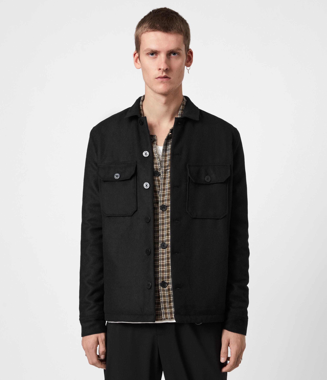 AllSaints Potomac Wool Blend Shirt