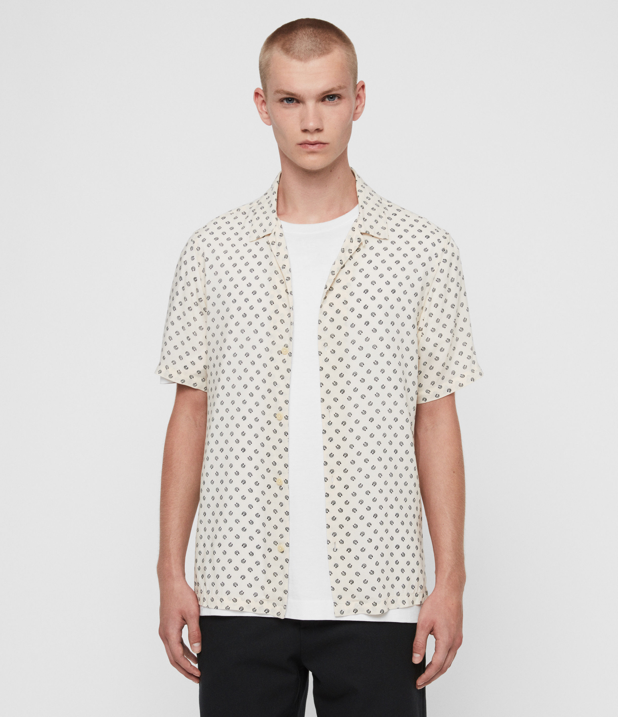 AllSaints Lucked Out Short Sleeve Shirt