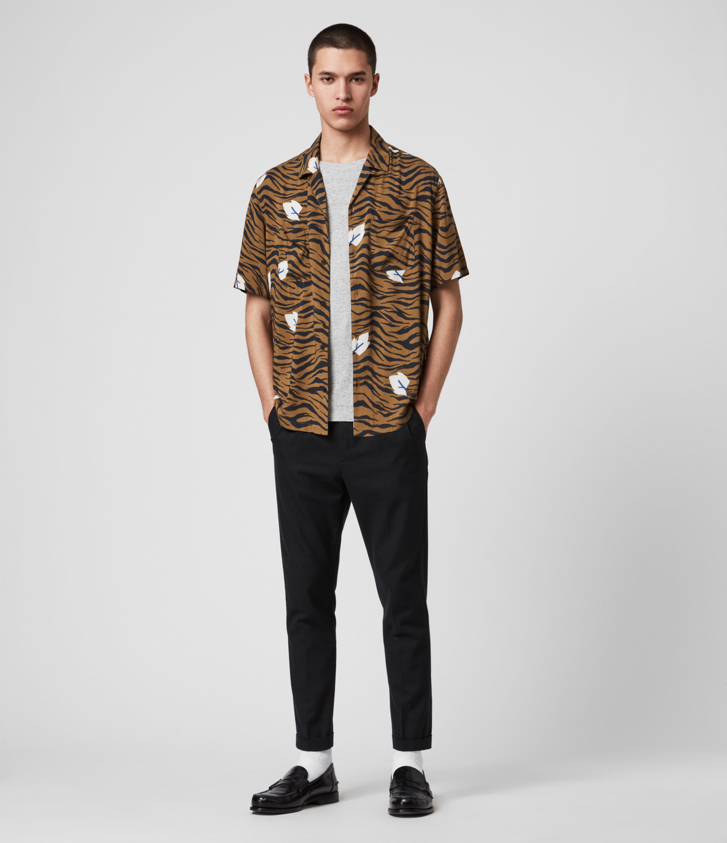 AllSaints Lazaro Short Sleeve Shirt