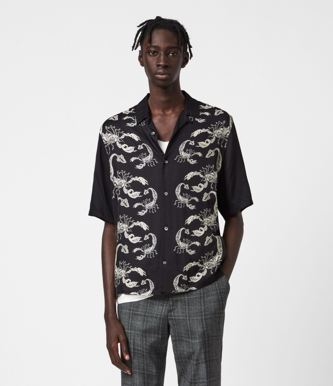 AllSaints Skorpio Short Sleeve Shirt