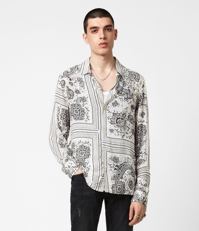 AllSaints Ventura Long Sleeve Shirt