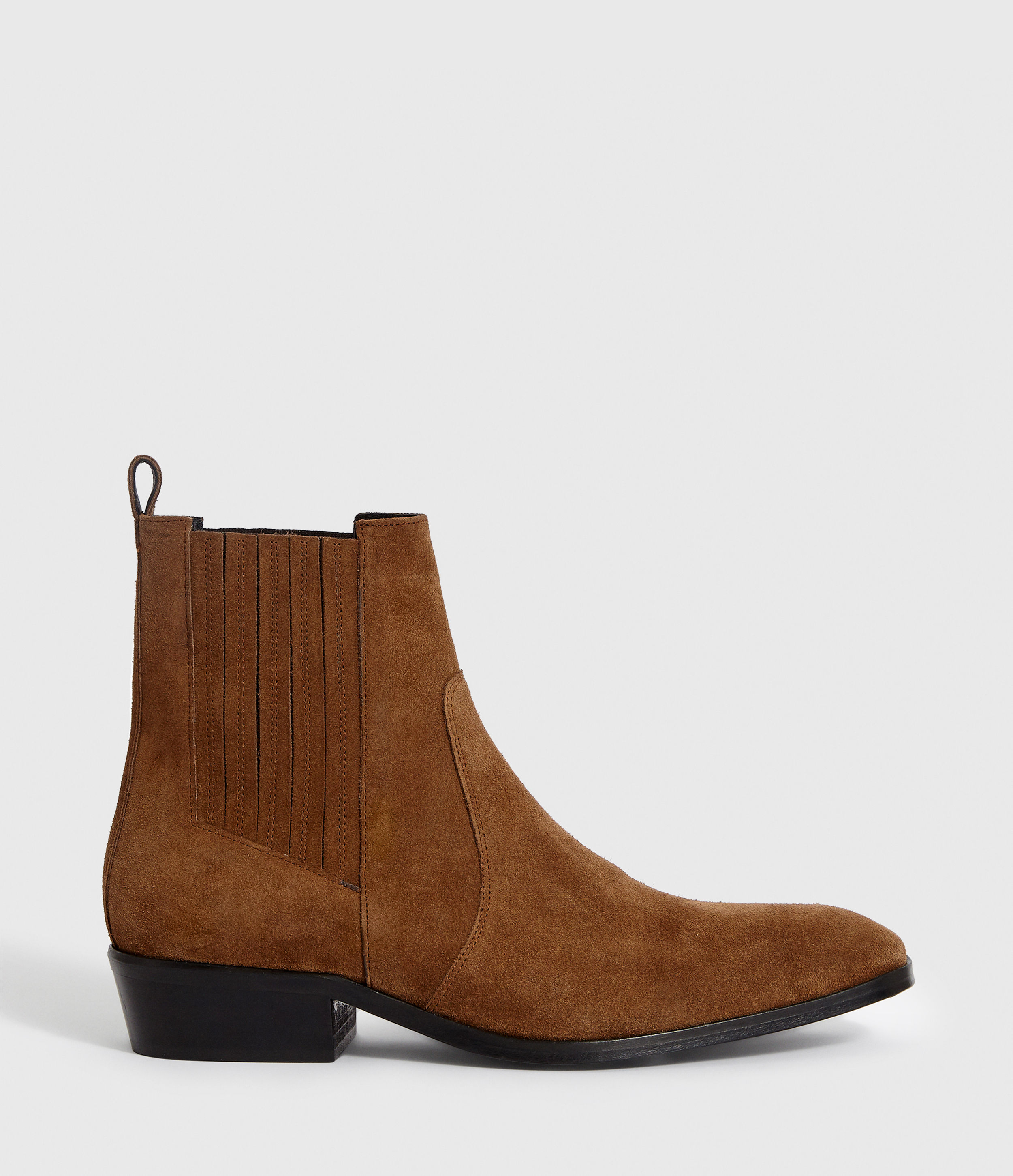 AllSaints Mens Rico Boot, Tan, Size: UK 8/US 9/EU 42