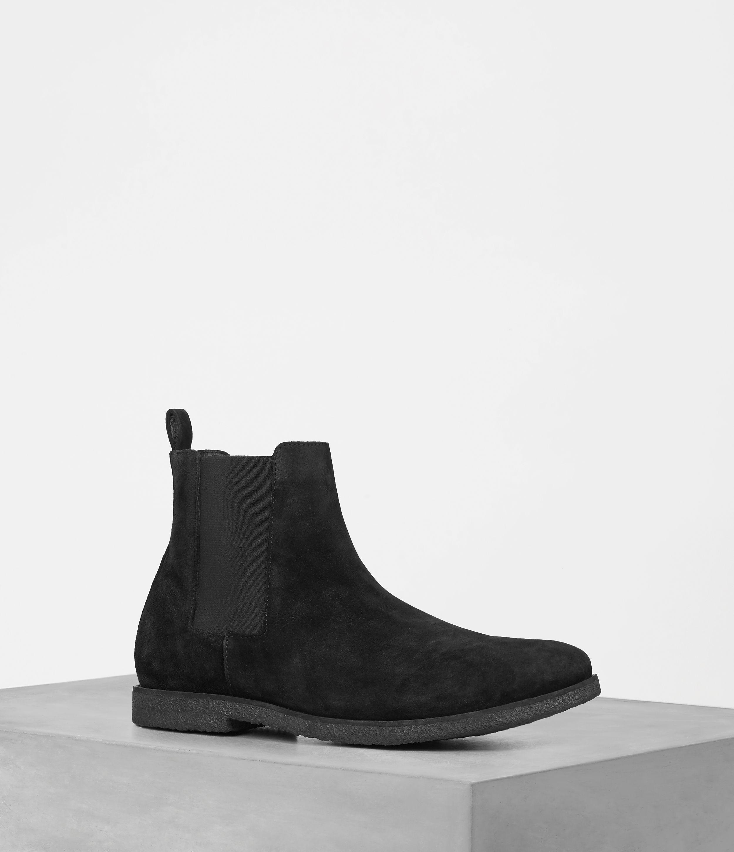 AllSaints Mens Reiner Chelsea Boot, Black, Size: UK 11/US 12/EU 45