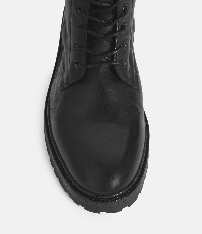 AllSaints Men's Leather Classic Tobias Boots, Black, Size: UK 7/US 8/EU 41