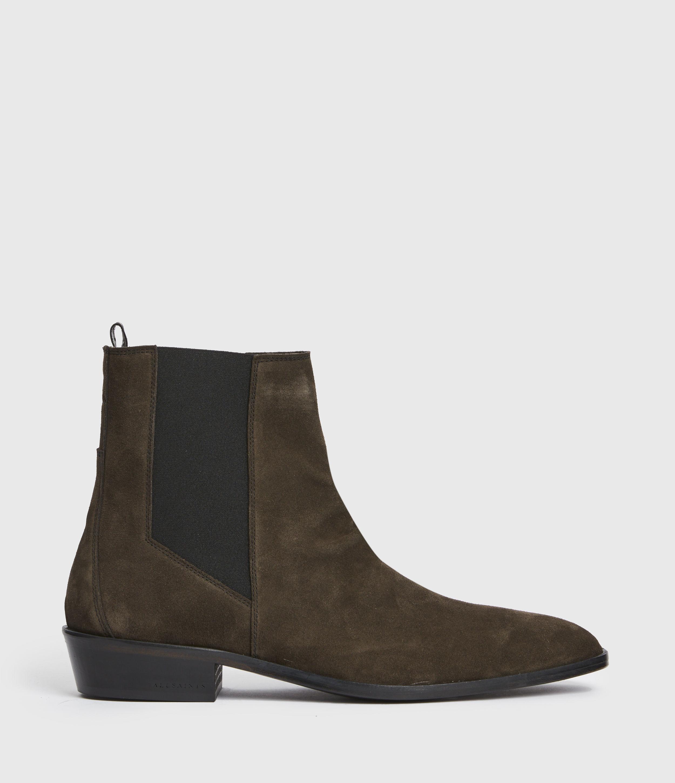 AllSaints Mens Markus Suede Boots, Bitter Chocolate, Size: UK 10/US 11/EU 44