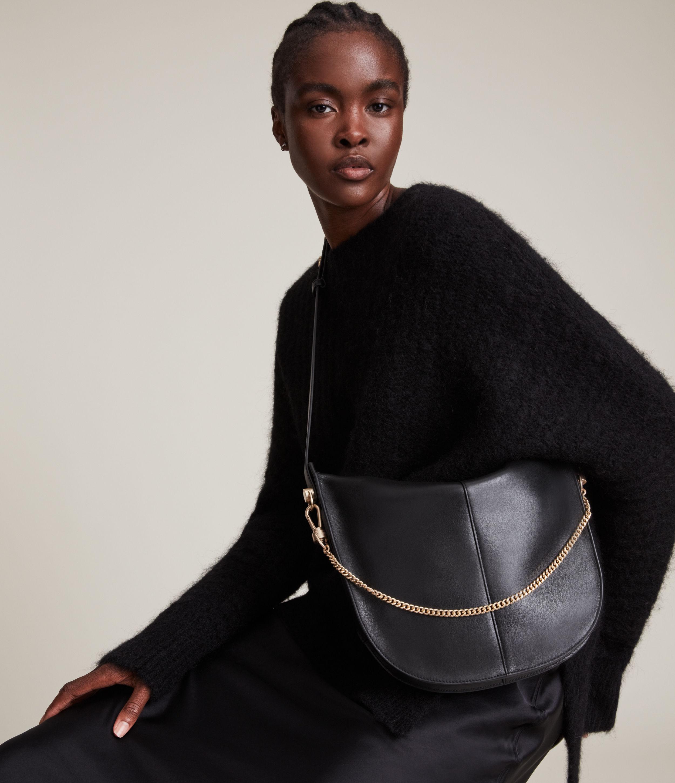 AllSaints Blake Leather Shoulder Bag