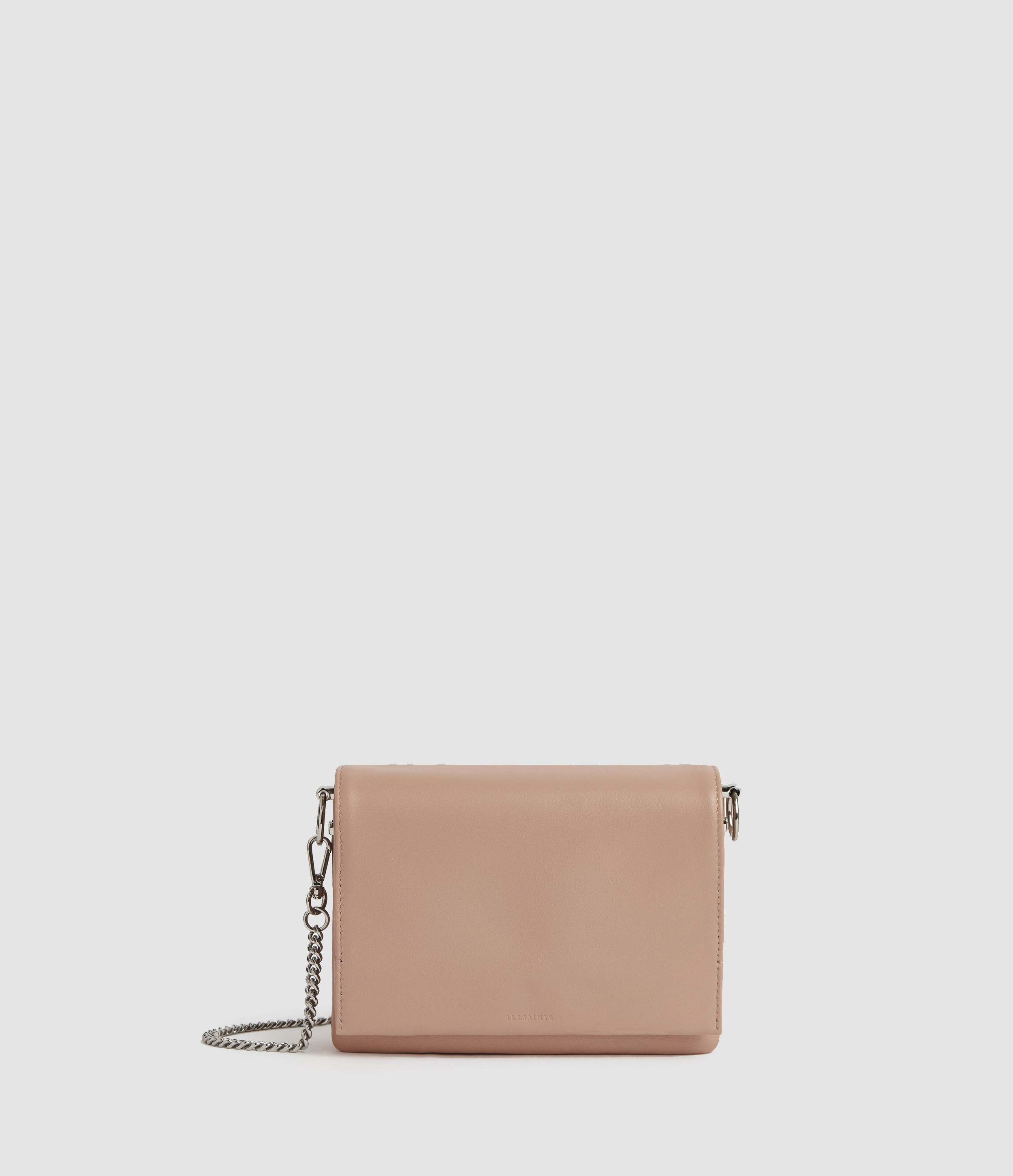 AllSaints Brune Leather Shoulder Bag