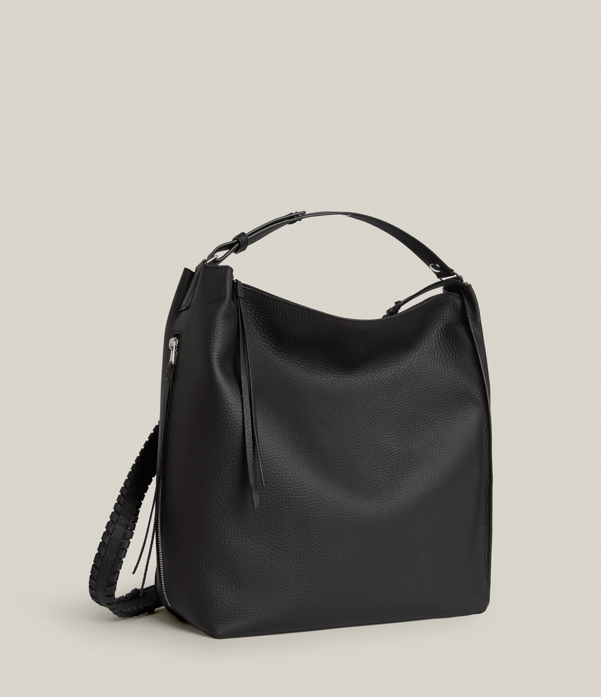 AllSaints Women's Leather Kita Backpack, Black