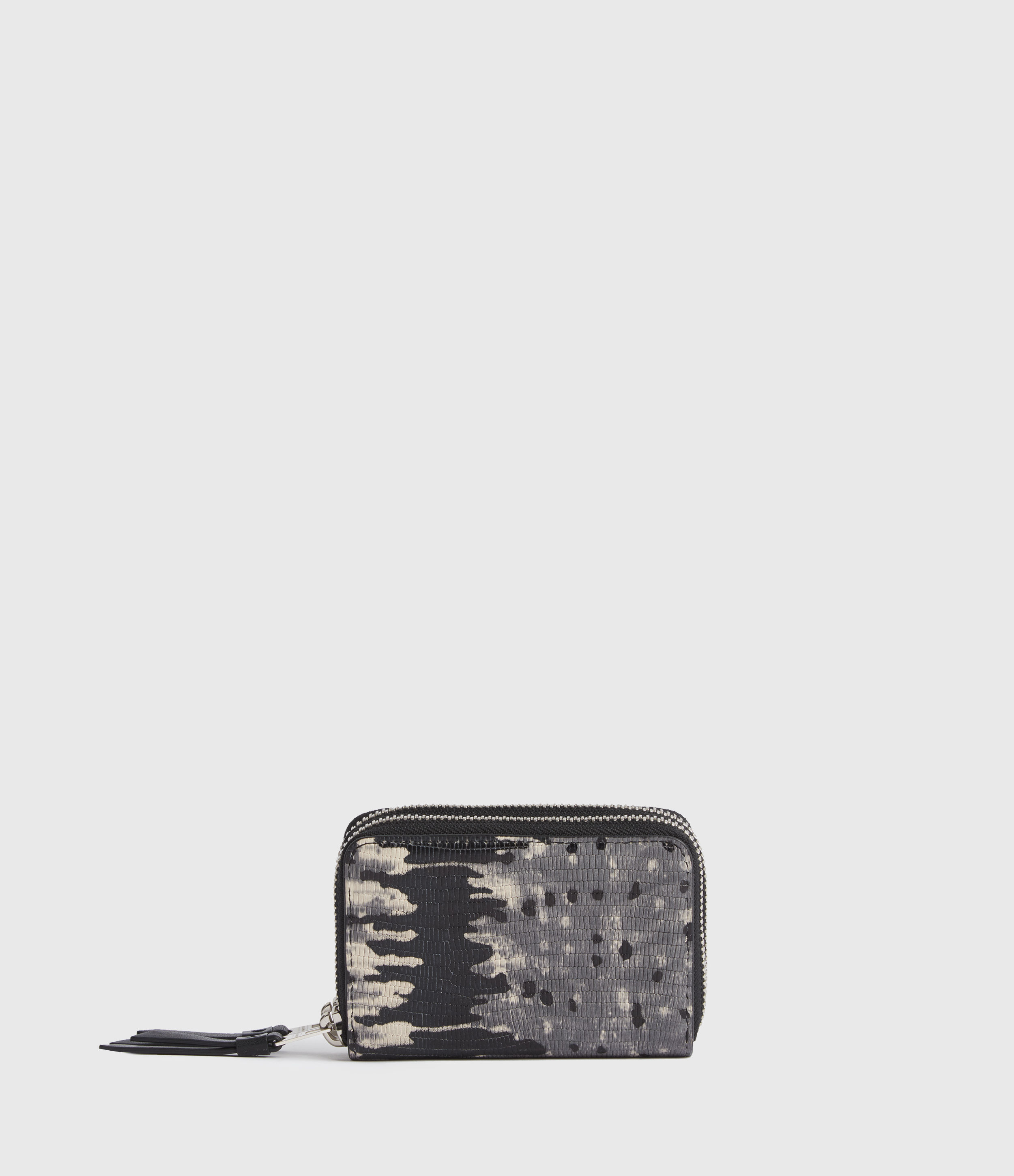 AllSaints Nantes Leather Cardholder