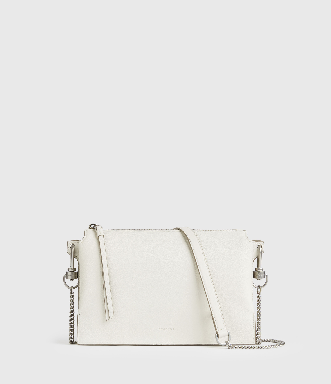 AllSaints Fletcher Leather Crossbody Bag