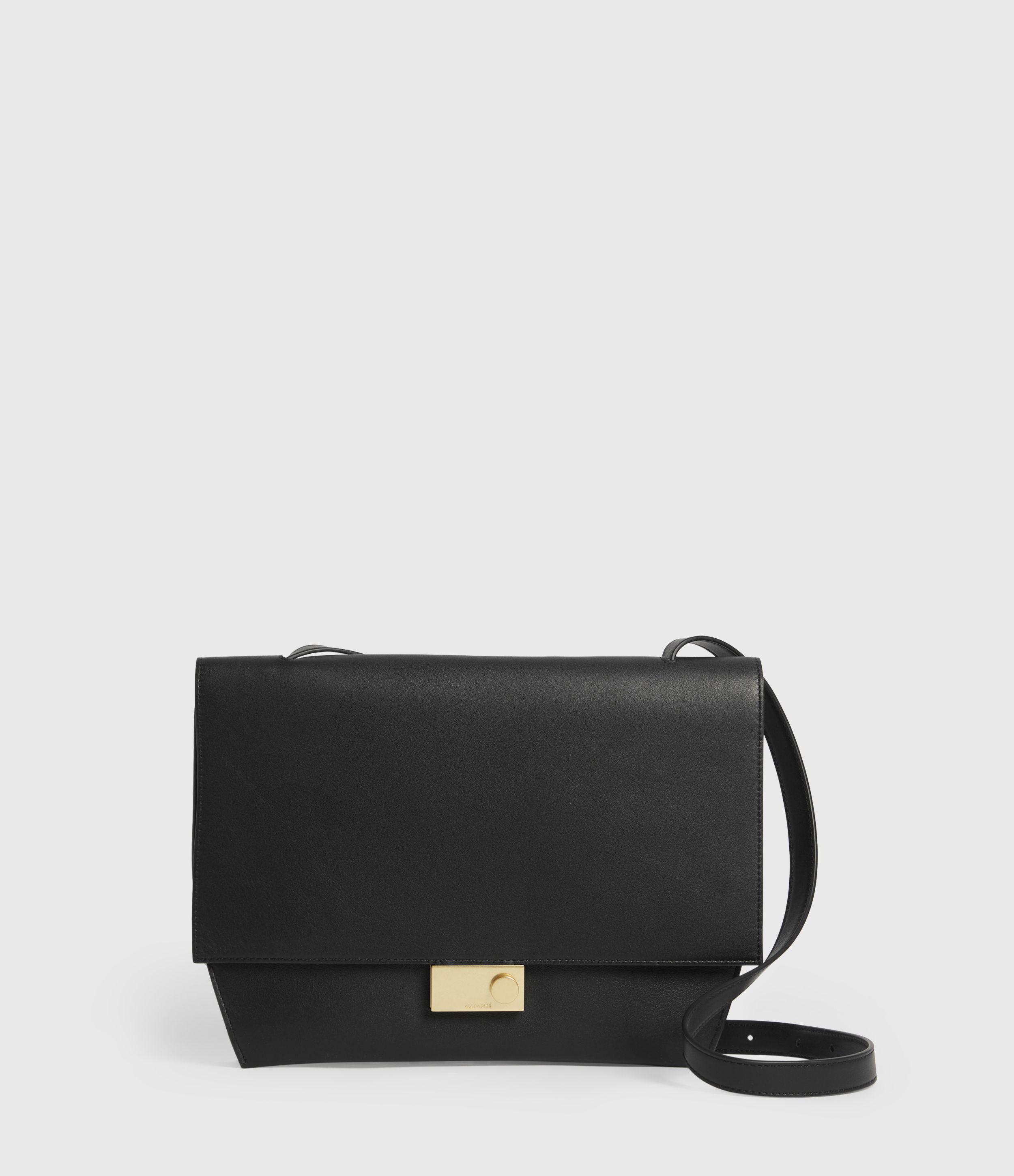Allsaints CHARTERHOUSE LEATHER SHOULDER BAG
