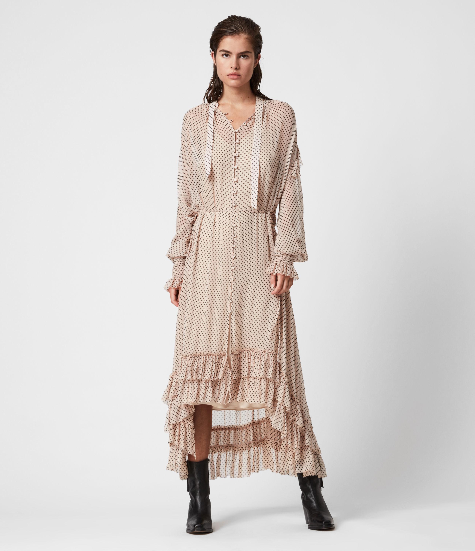 AllSaints Lara Dot Dress