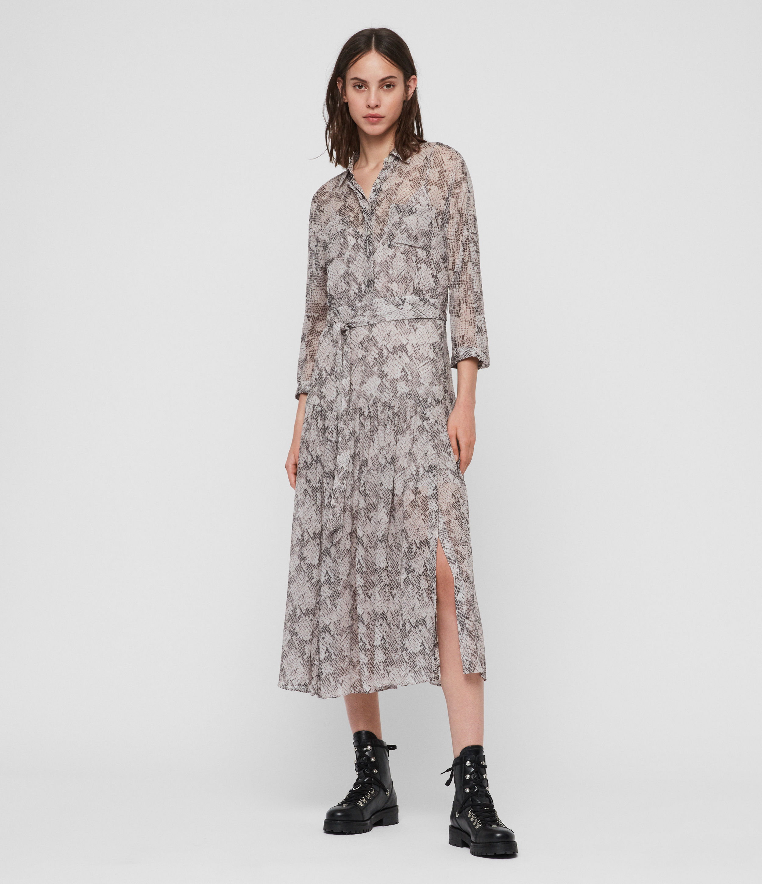 AllSaints Eley Midgard Dress
