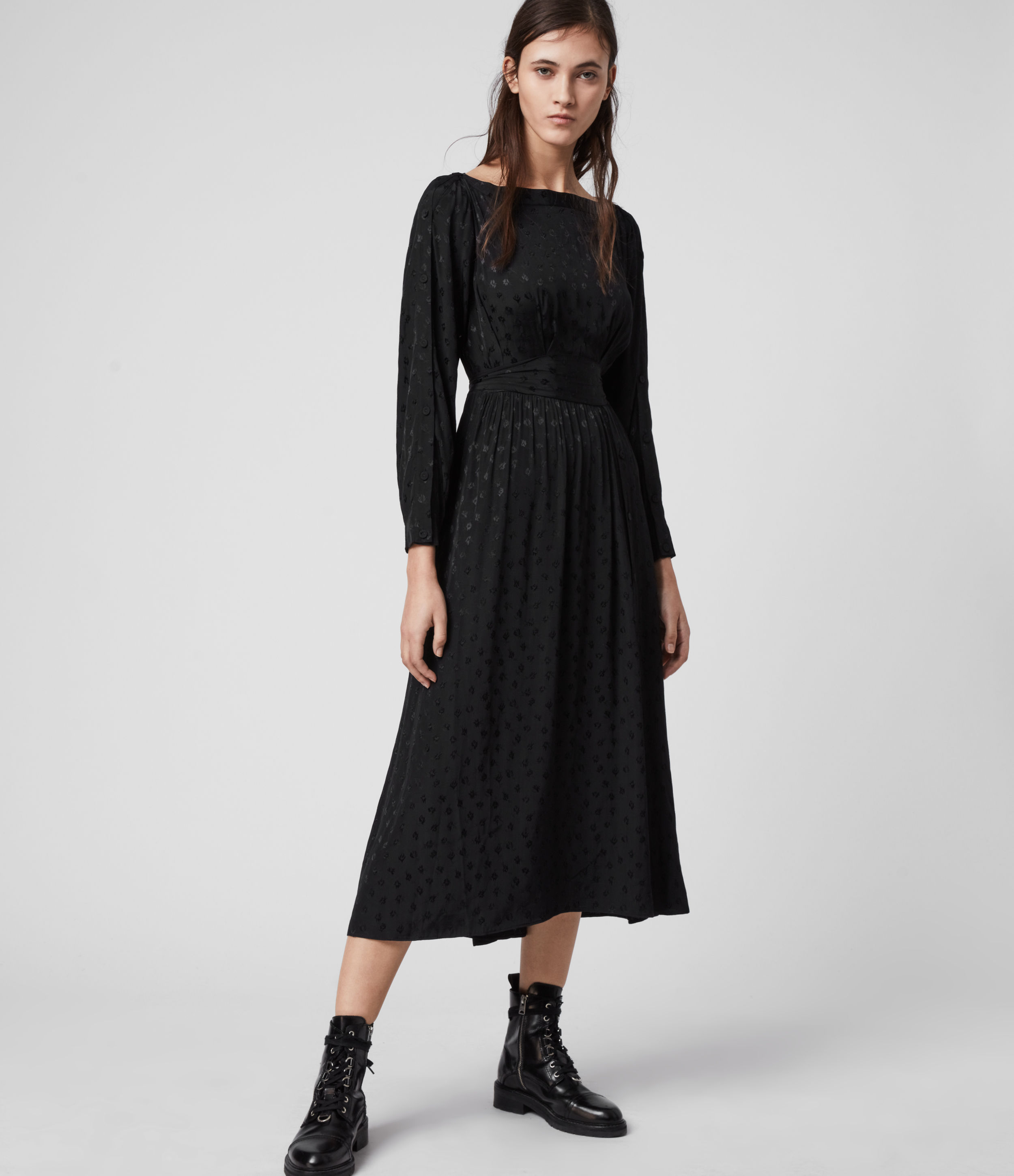 AllSaints Faustin Flora Dress