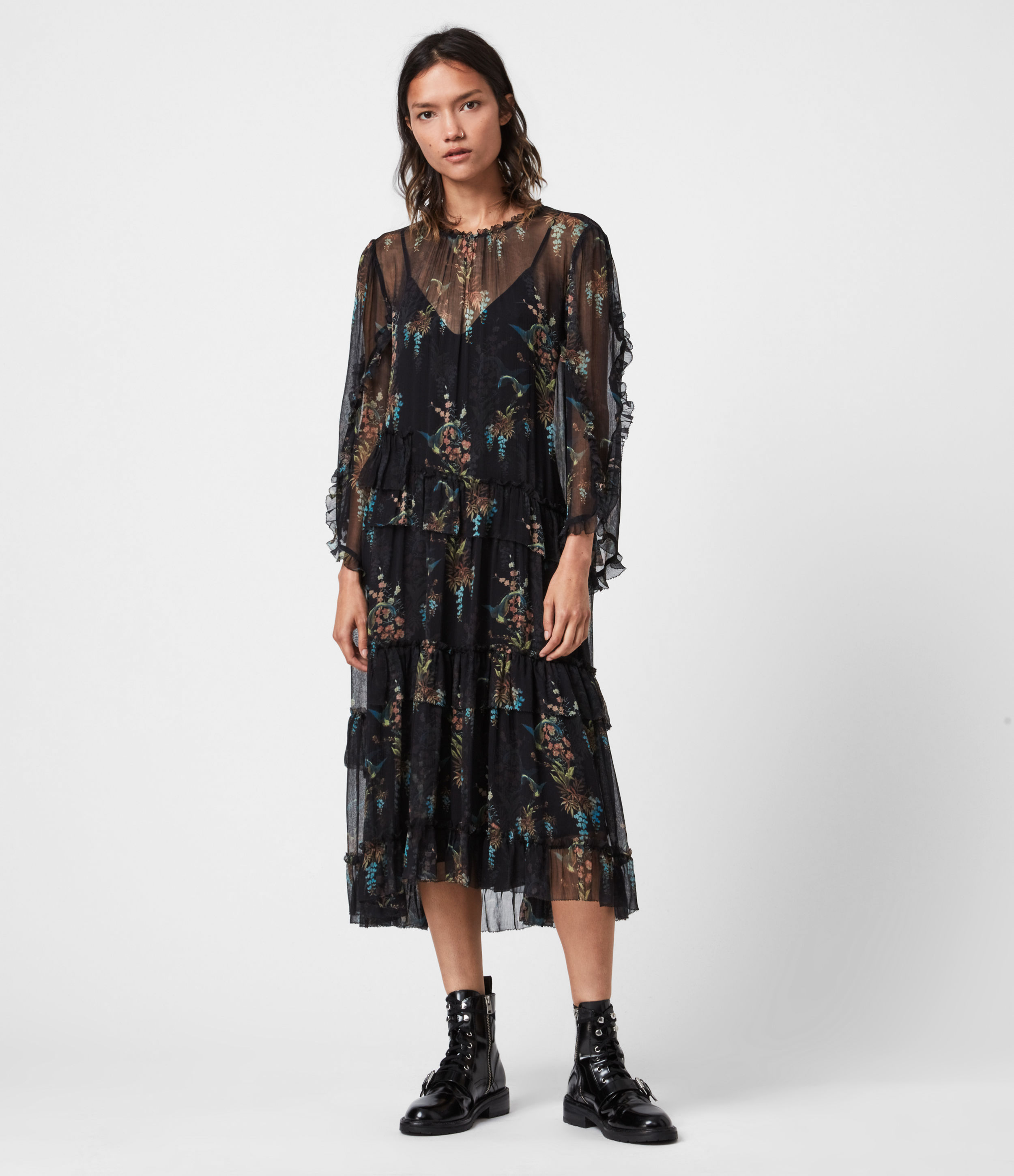 AllSaints Macey Melisma Dress