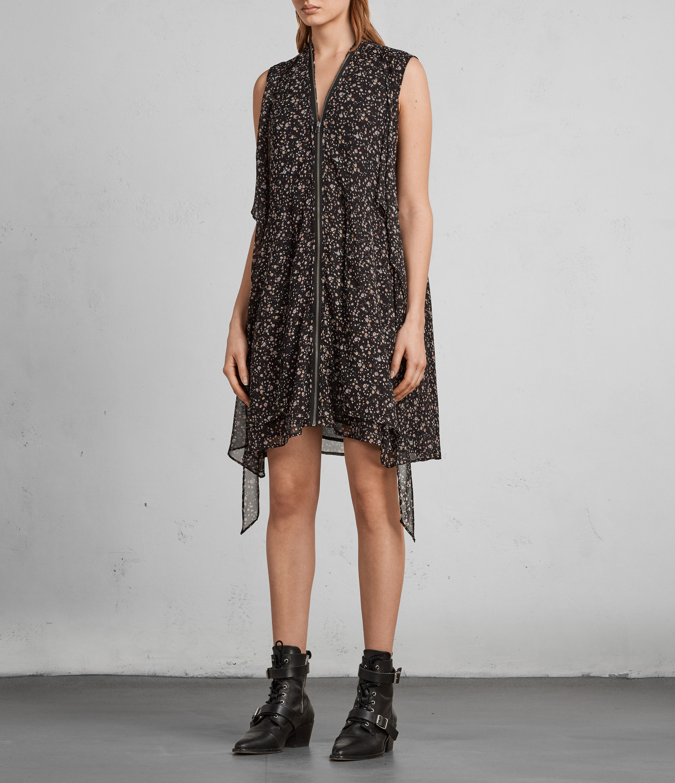 jayda pepper dress allsaints at 168 love the brands. Black Bedroom Furniture Sets. Home Design Ideas